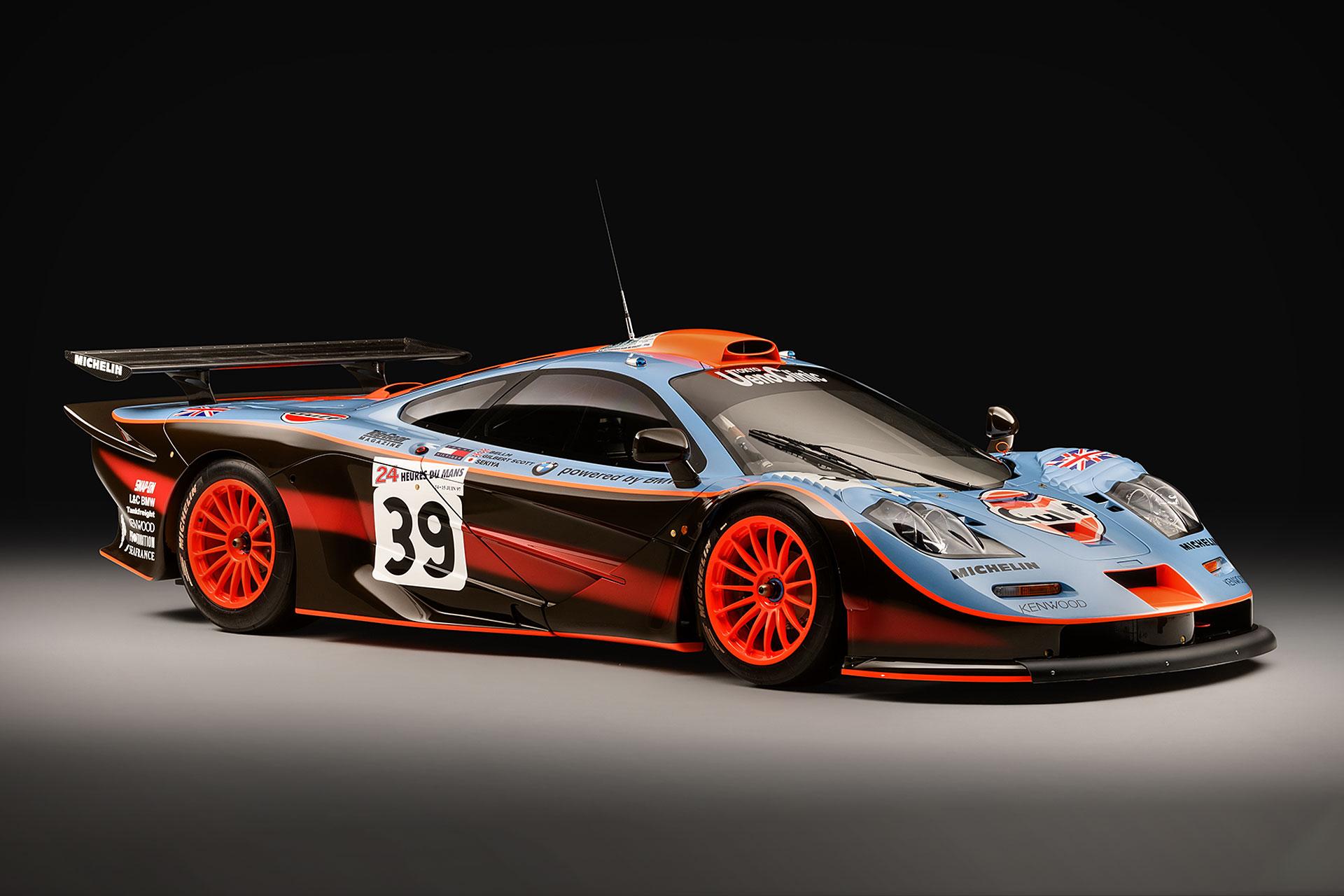 Ex Le Mans Mclaren F1 Gtr Restoration Uncrate