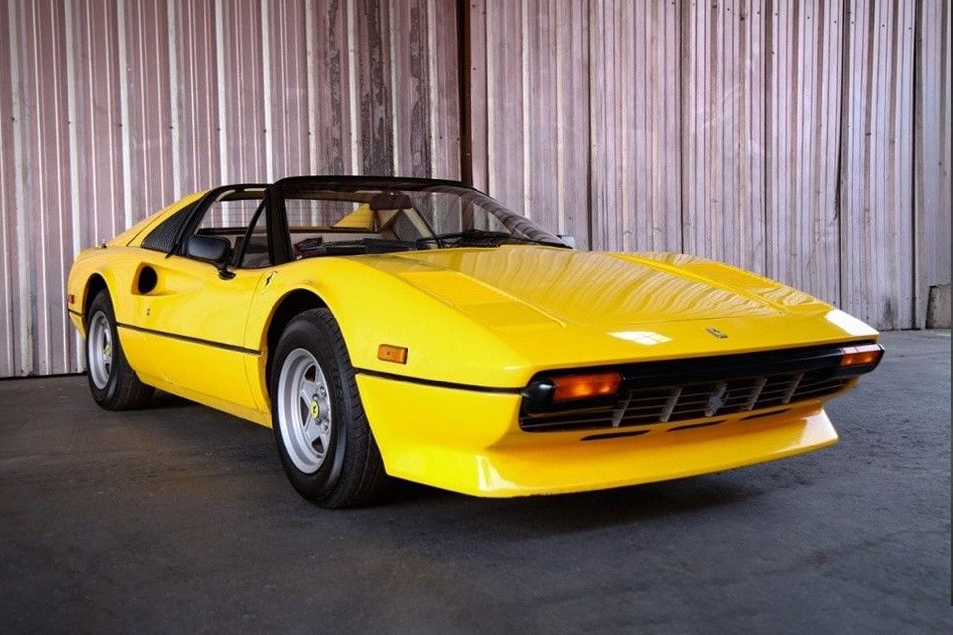 Miles Davis' 1980 Ferrari 308 GTSI Coupe