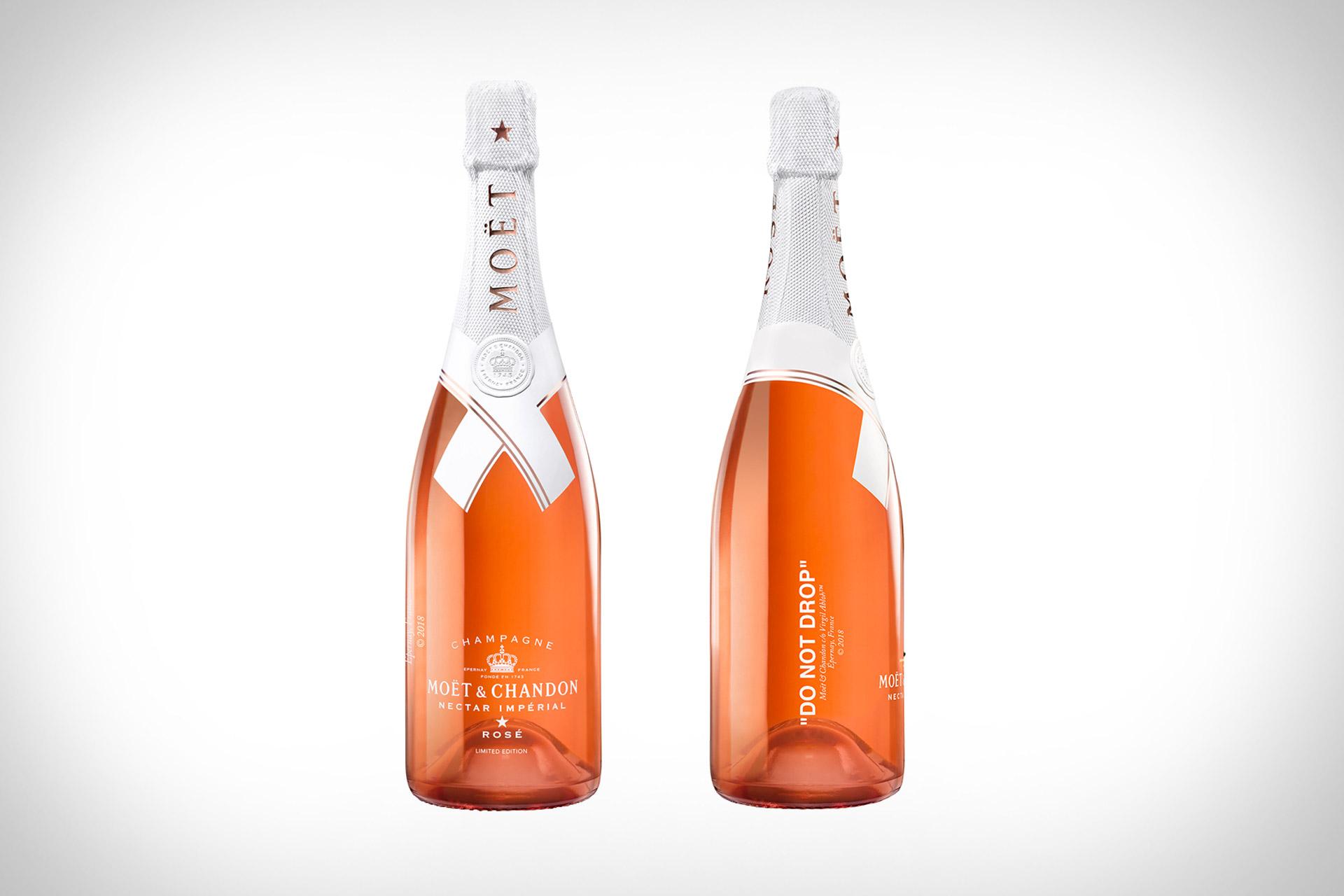 Moet & Chandon x Off-White Impérial Rosé Champagne
