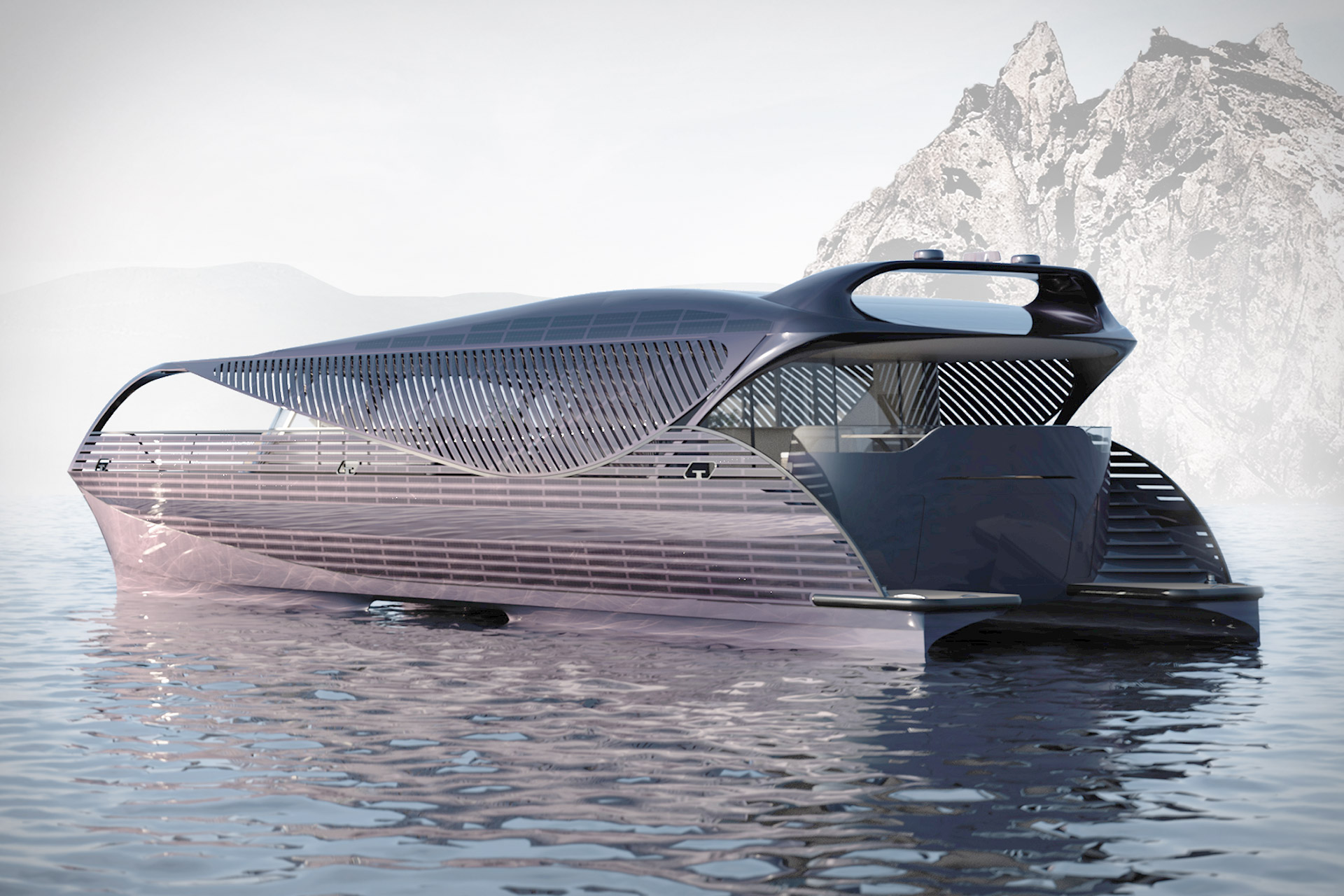 SolarImpact Electric Yacht