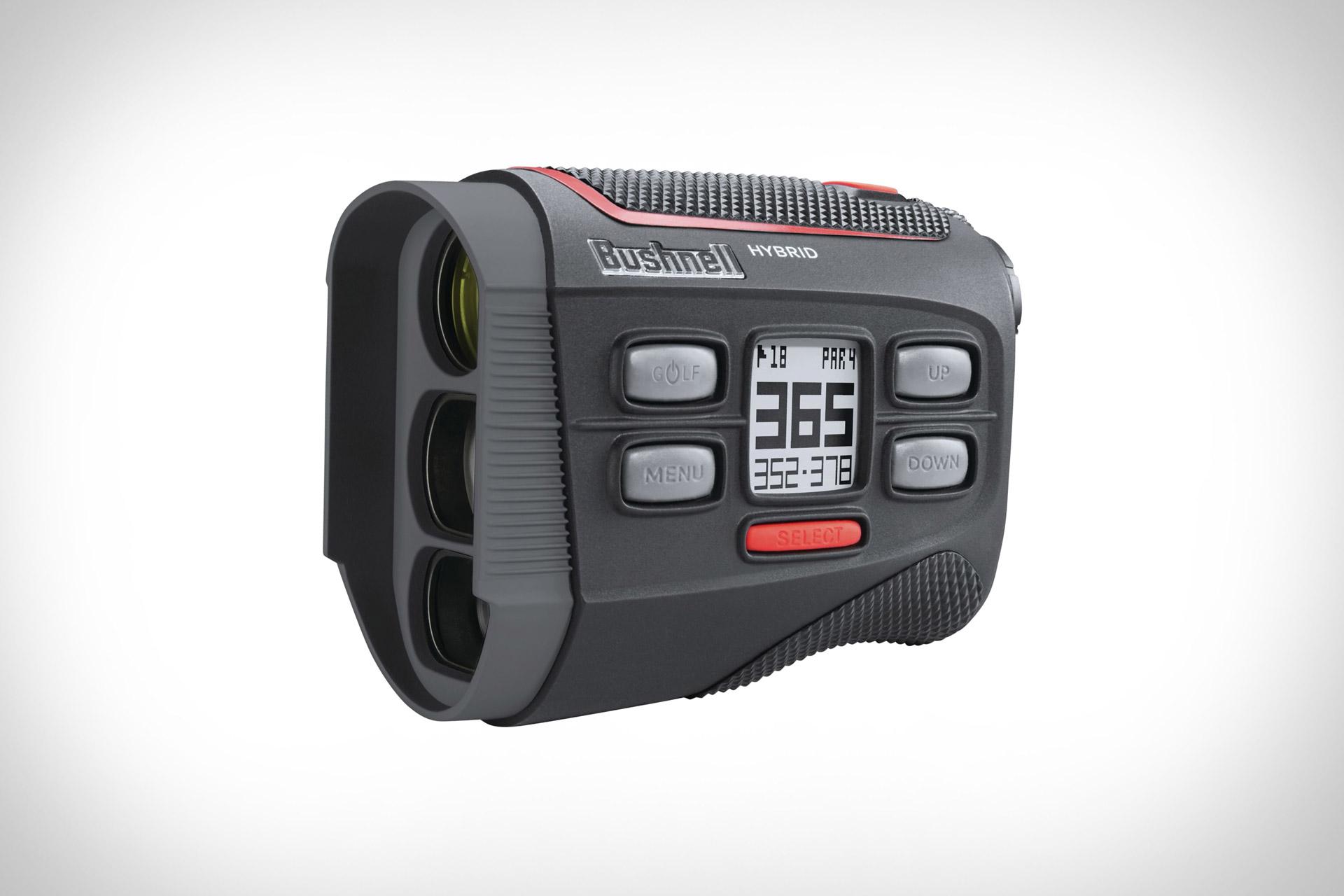 Iphone Entfernungsmesser Golf : Bushnell golf hybrid rangefinder uncrate