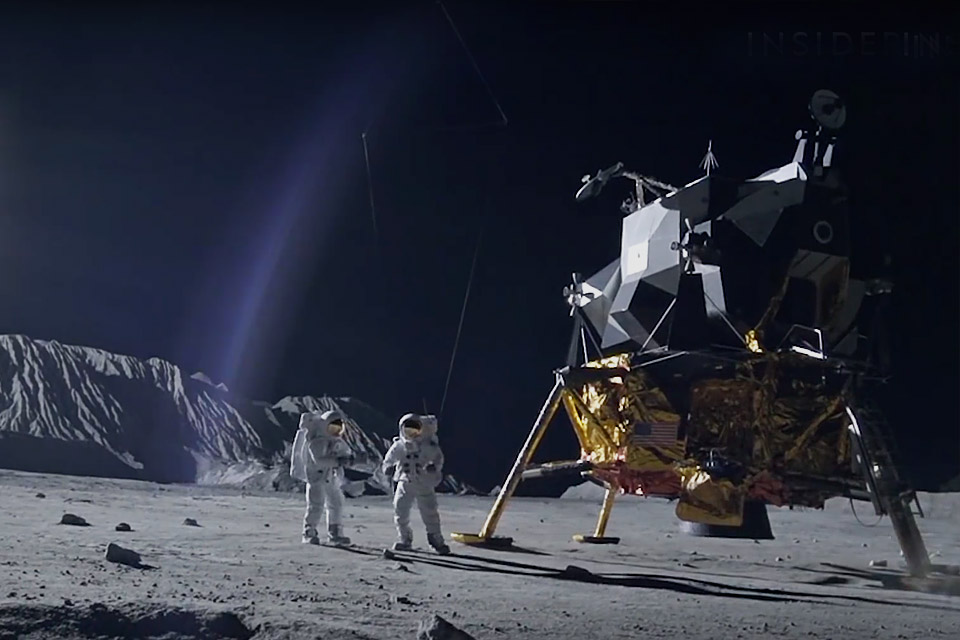 How First Man Recreated the Moon Landing