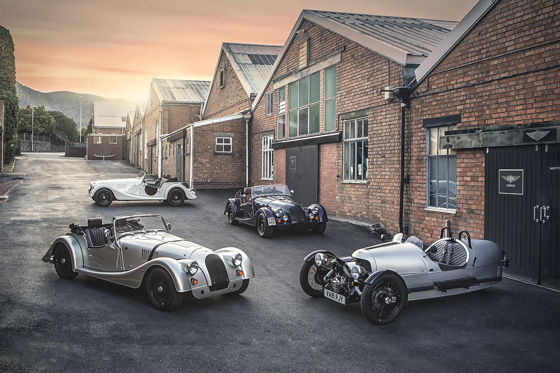 Morgan Motor Co. 110th Anniversary Cars