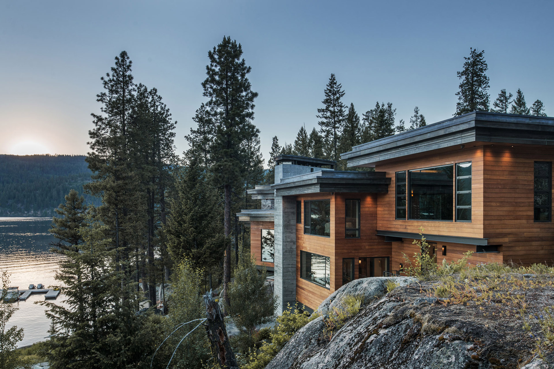 Payette Lake Cliff House Uncrate