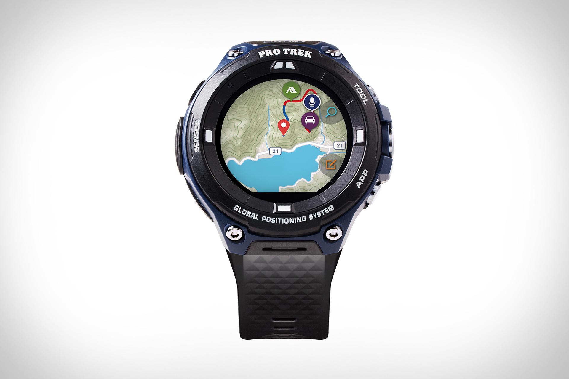 QnA VBage Casio Pro Trek Smartwatch