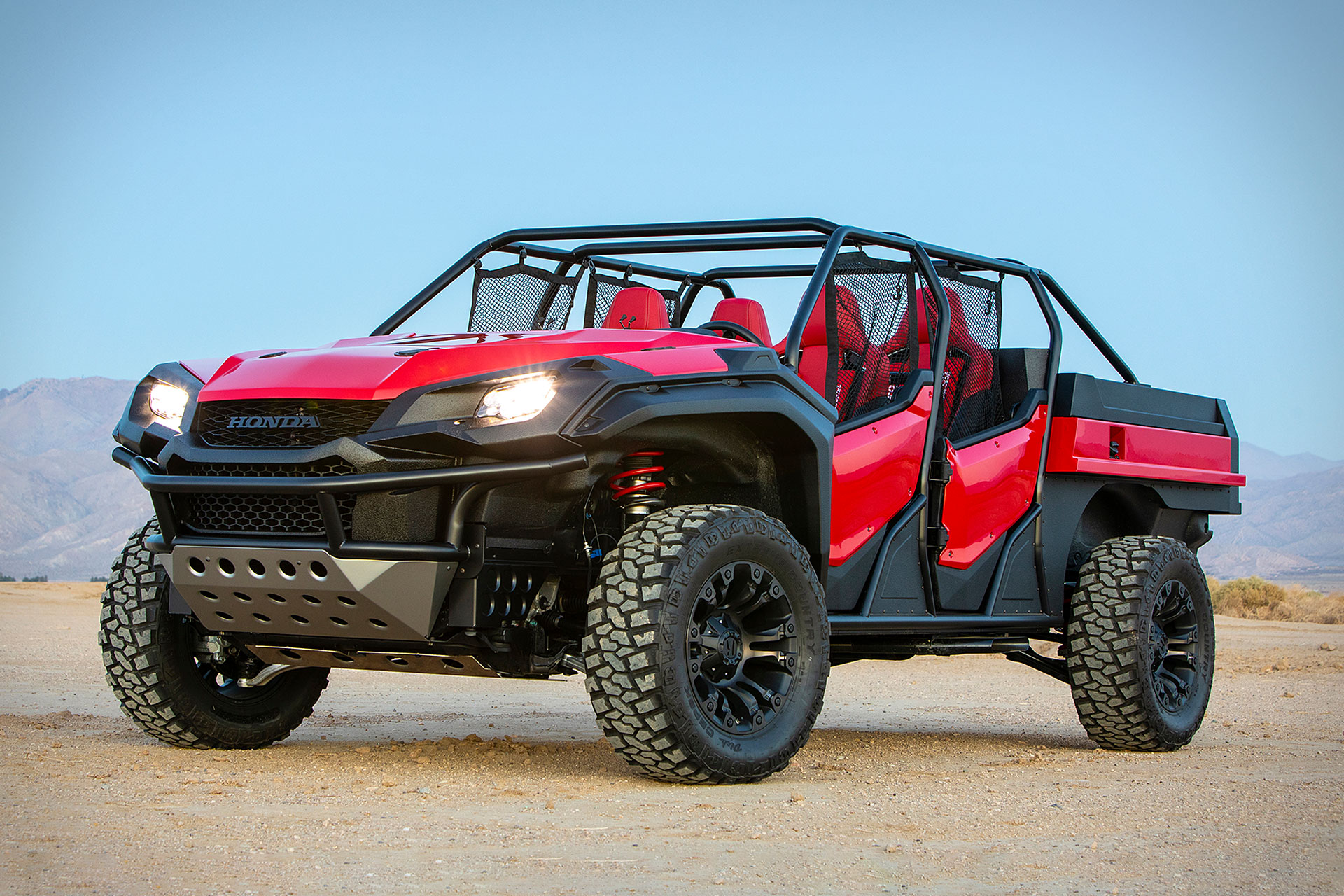 Honda Rugged Open Air Vehicle Concept   Uncrate