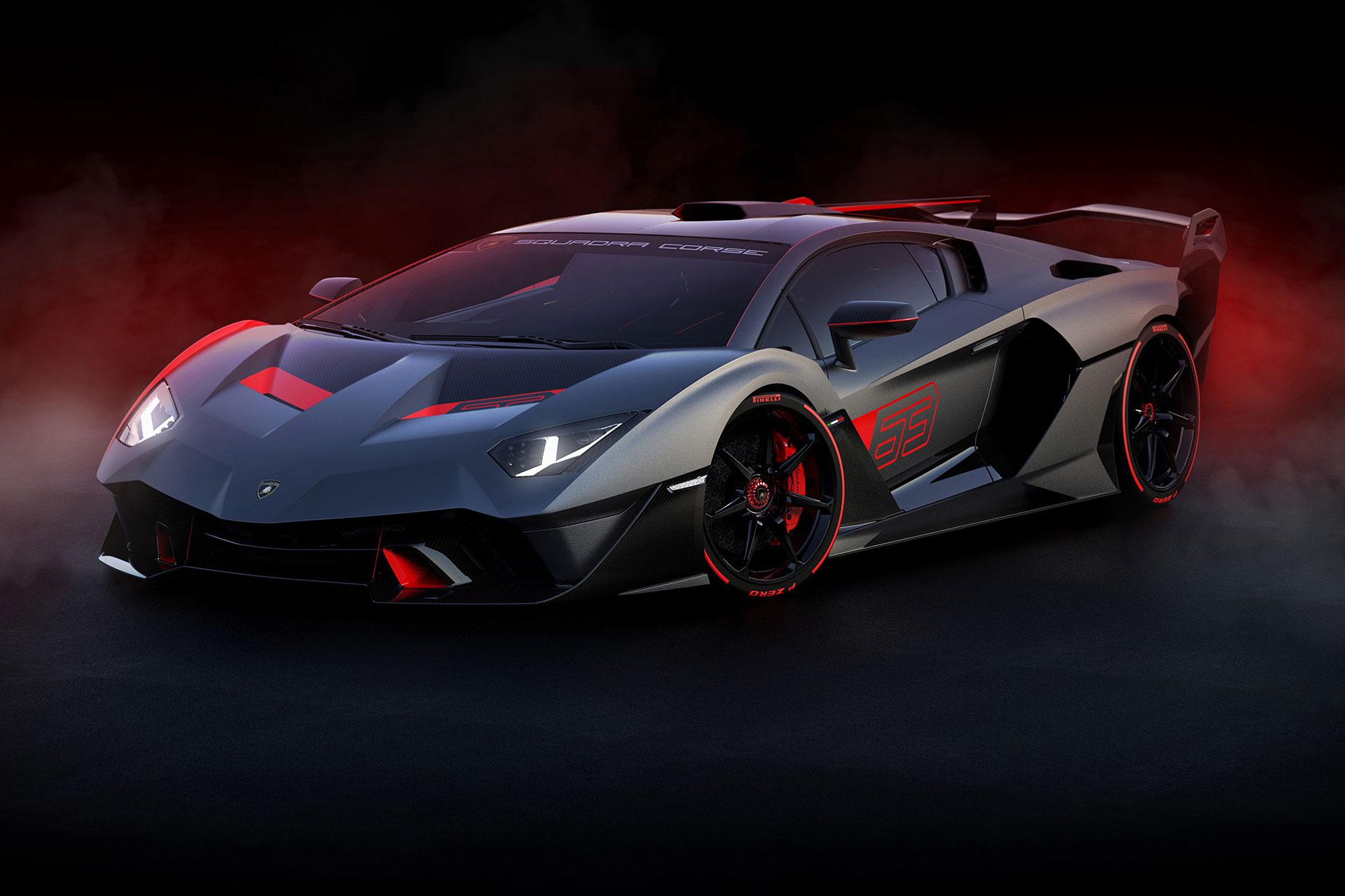 Lamborghini Squadra Corse SC18 Alston Track Car