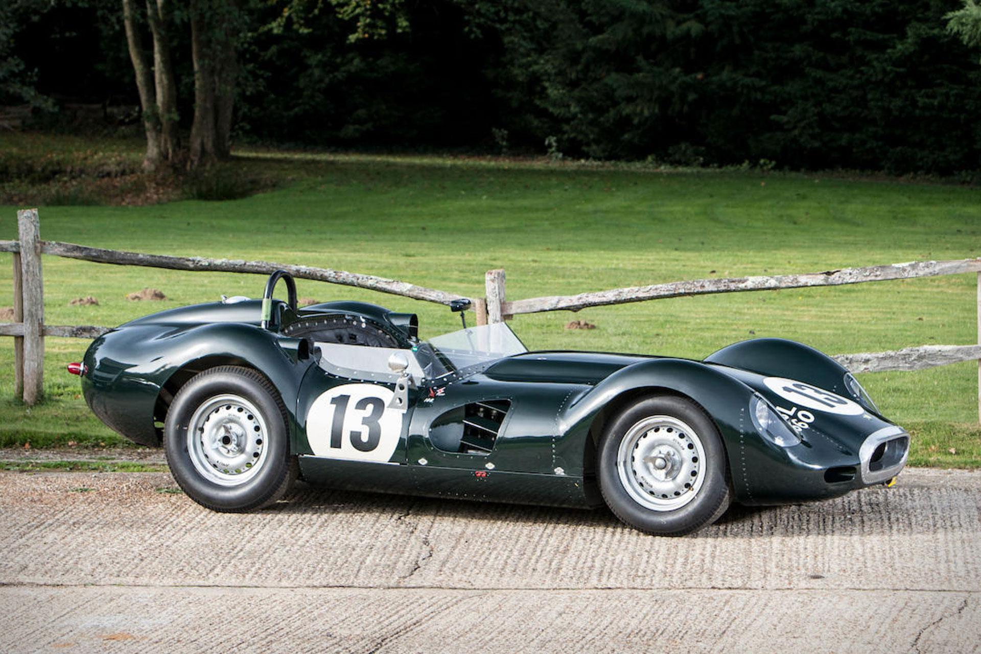 1959 Lister Jaguar Knobbly Race Car Uncrate