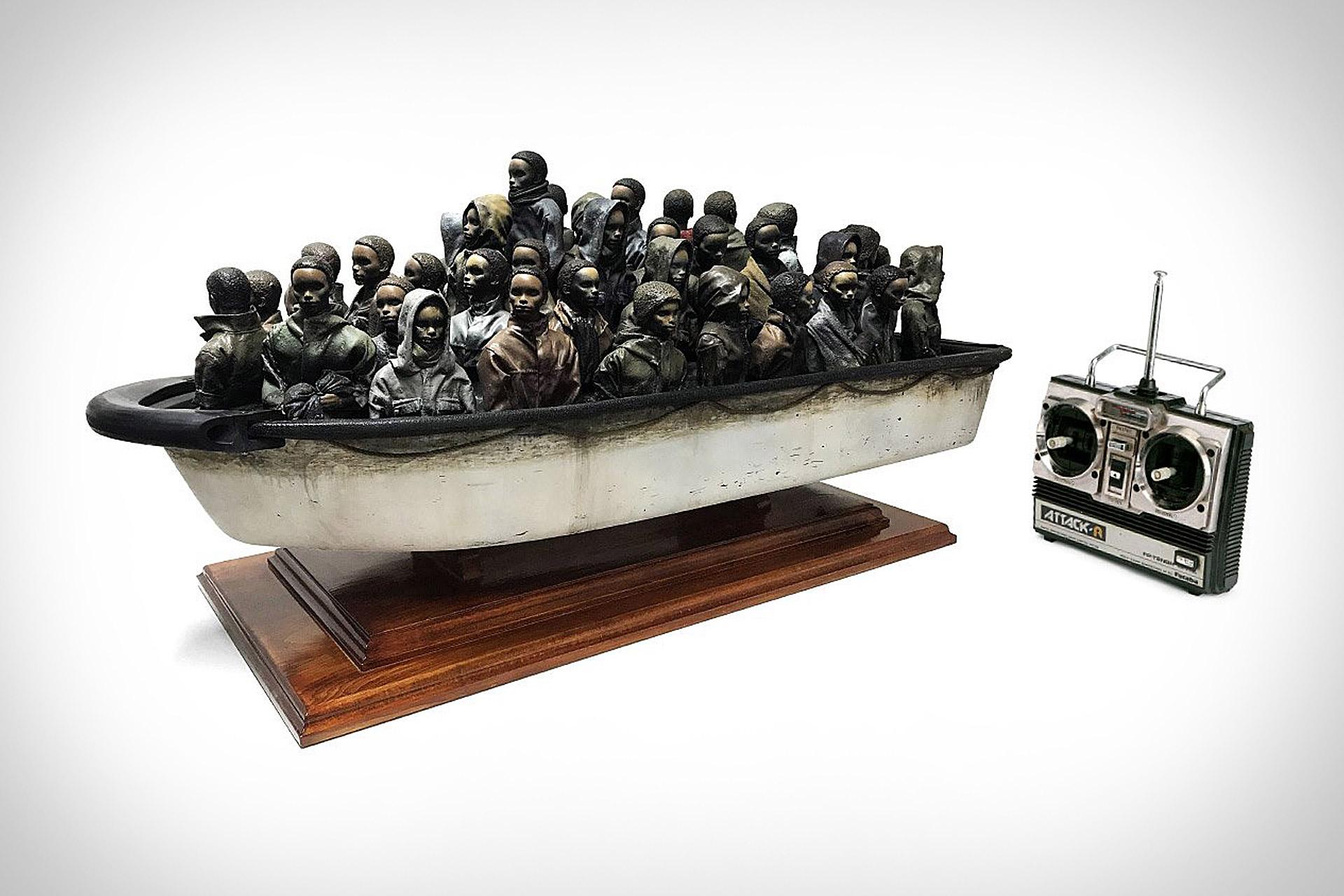 Banksy Boat Raffle