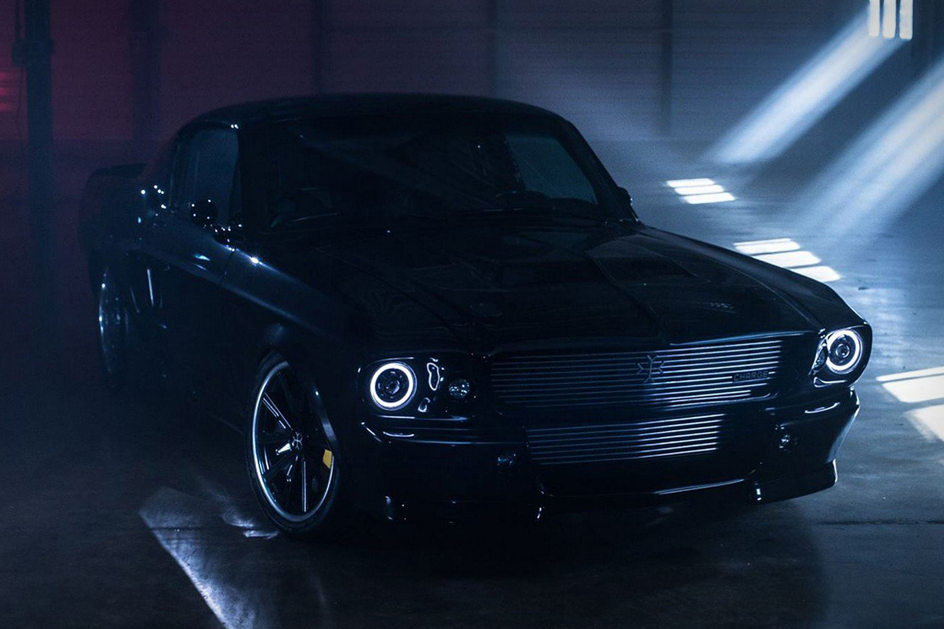 Charge Electric 1960s Ford Mustang