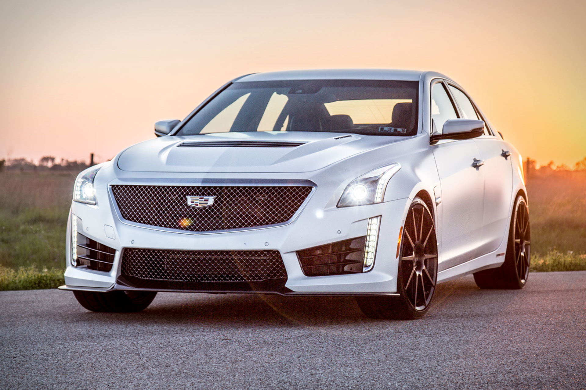 Hennessey HPE1000 Cadillac CTS-V Sedan | Uncrate