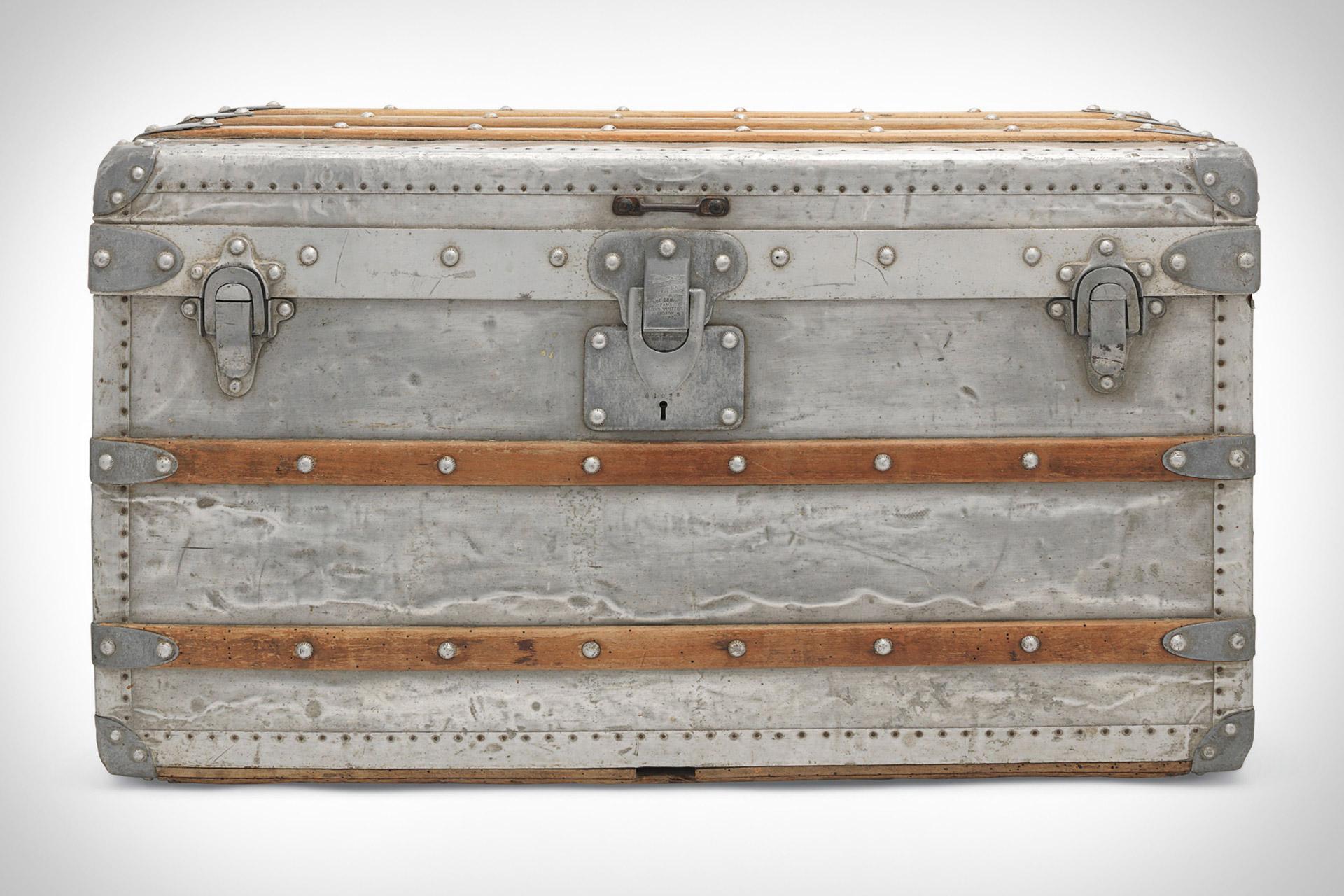 24fa019937aa Louis Vuitton Aluminium Explorer Trunk