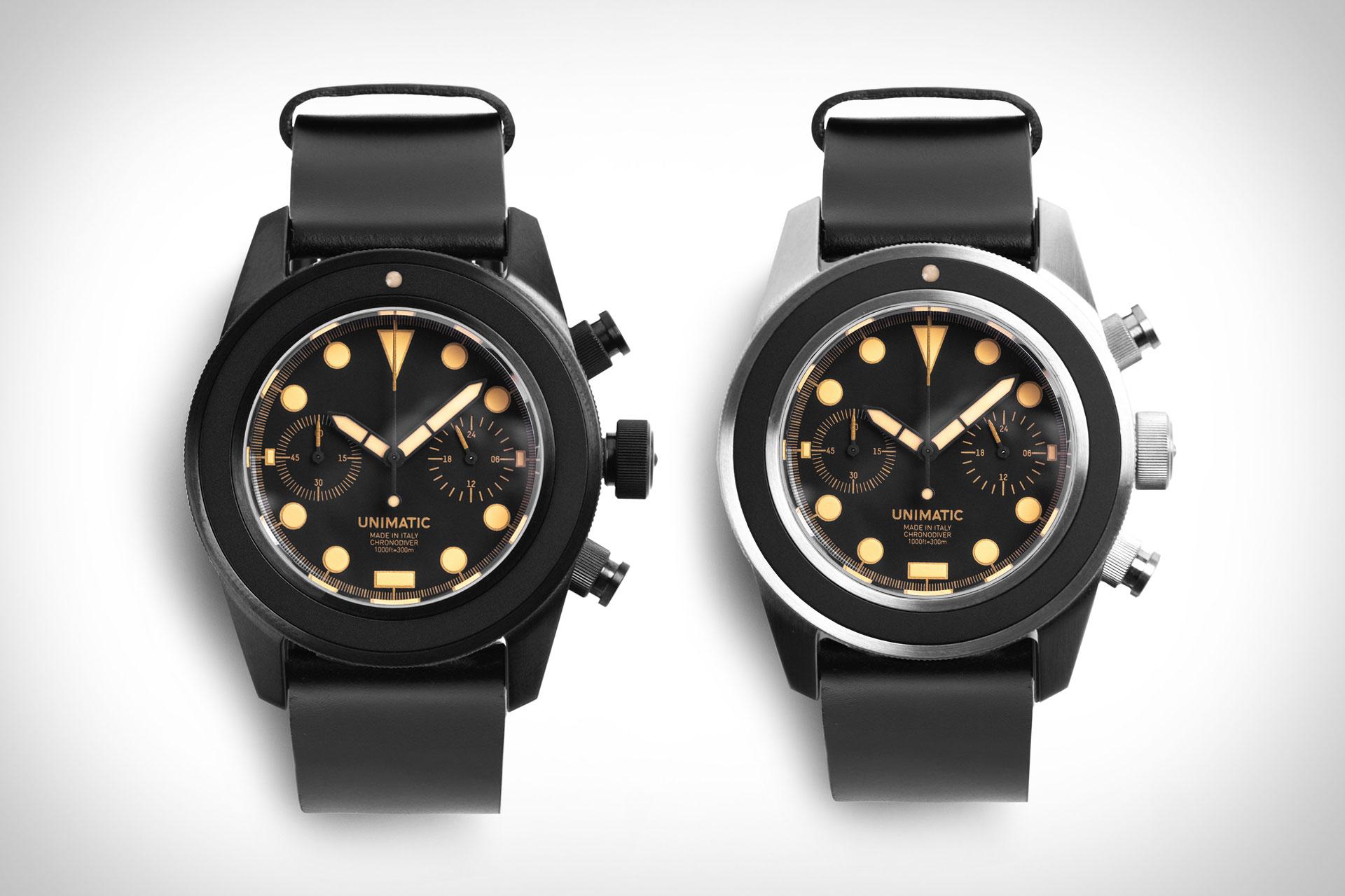 Unimatic U3 Chronograph Watch
