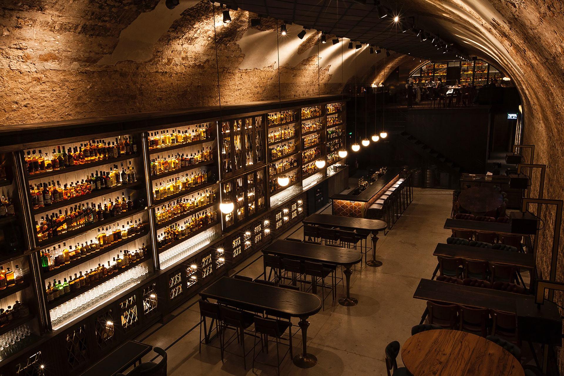 Whiskey Bar Amp Museum Tel Aviv Uncrate