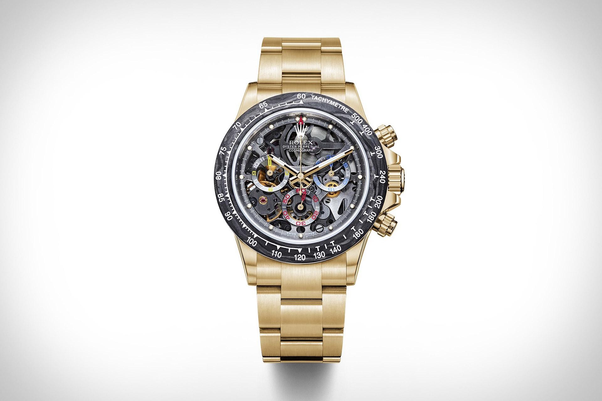 Artisans de Geneve La Montoya Gold Rolex Daytona Watch