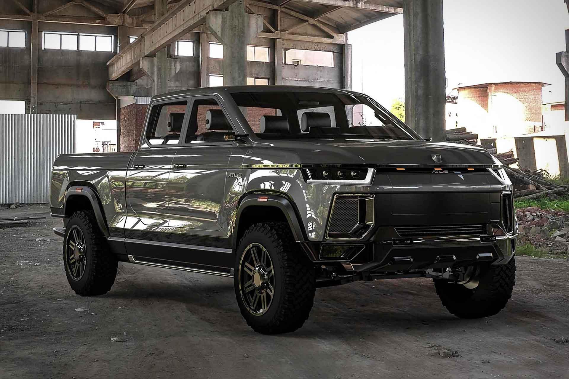 Atlis XT Electric Pickup Truck | Uncrate