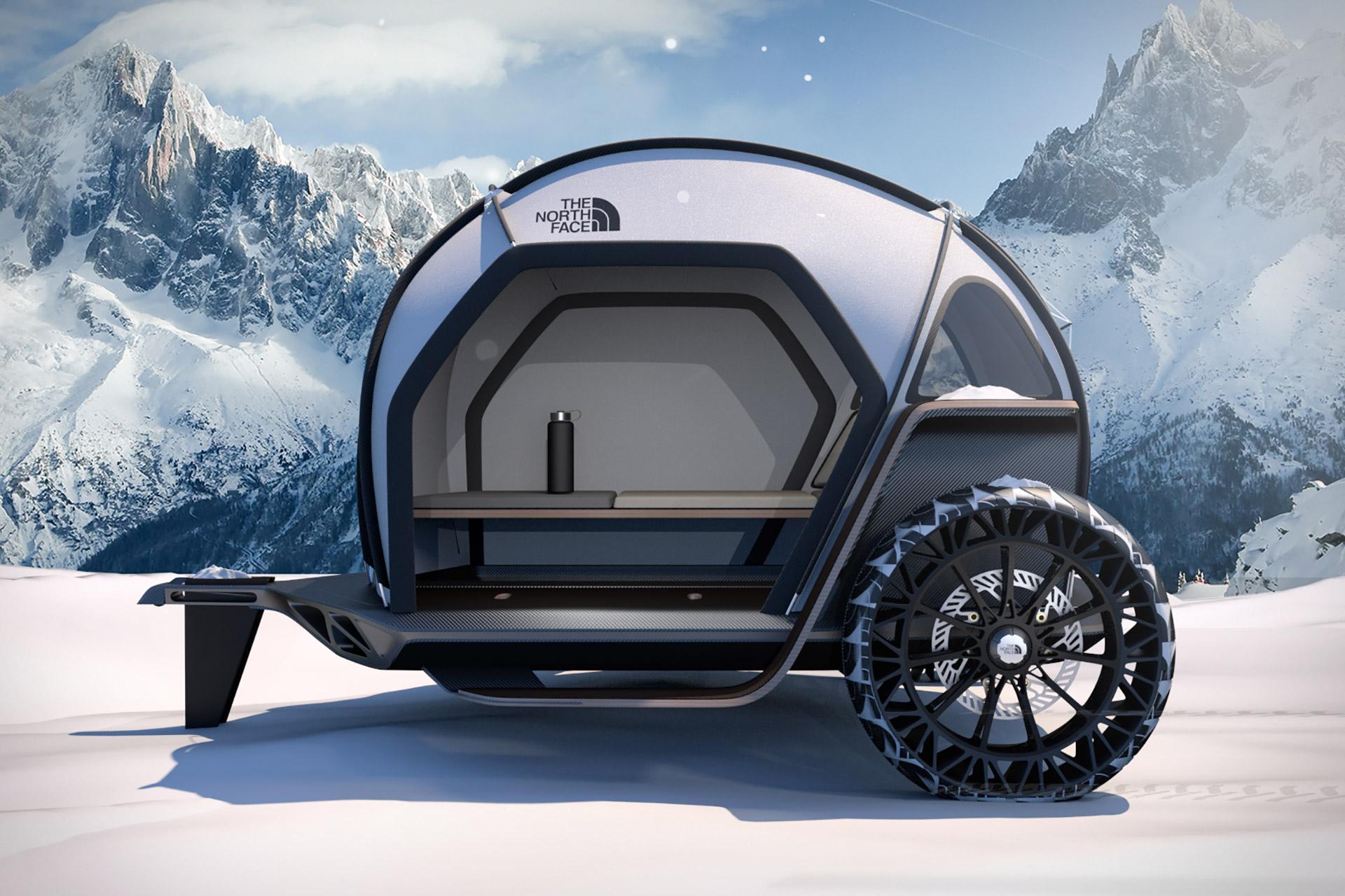 BMW Designworks x The North Face Camper Concept