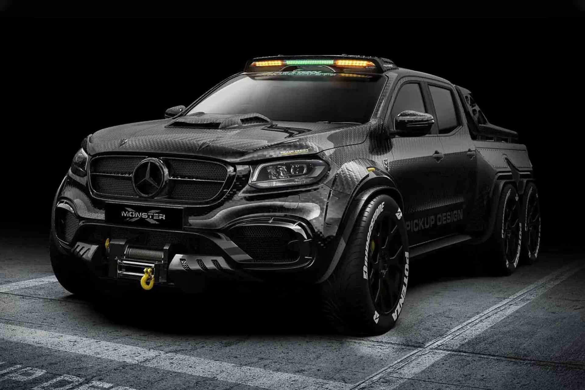 Carlex Mercedes-Benz X-Class 6×6 Truck   Uncrate