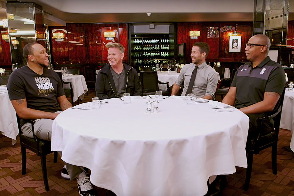 Gordon Ramsay Judges Steaks Cooked By NBA Legends