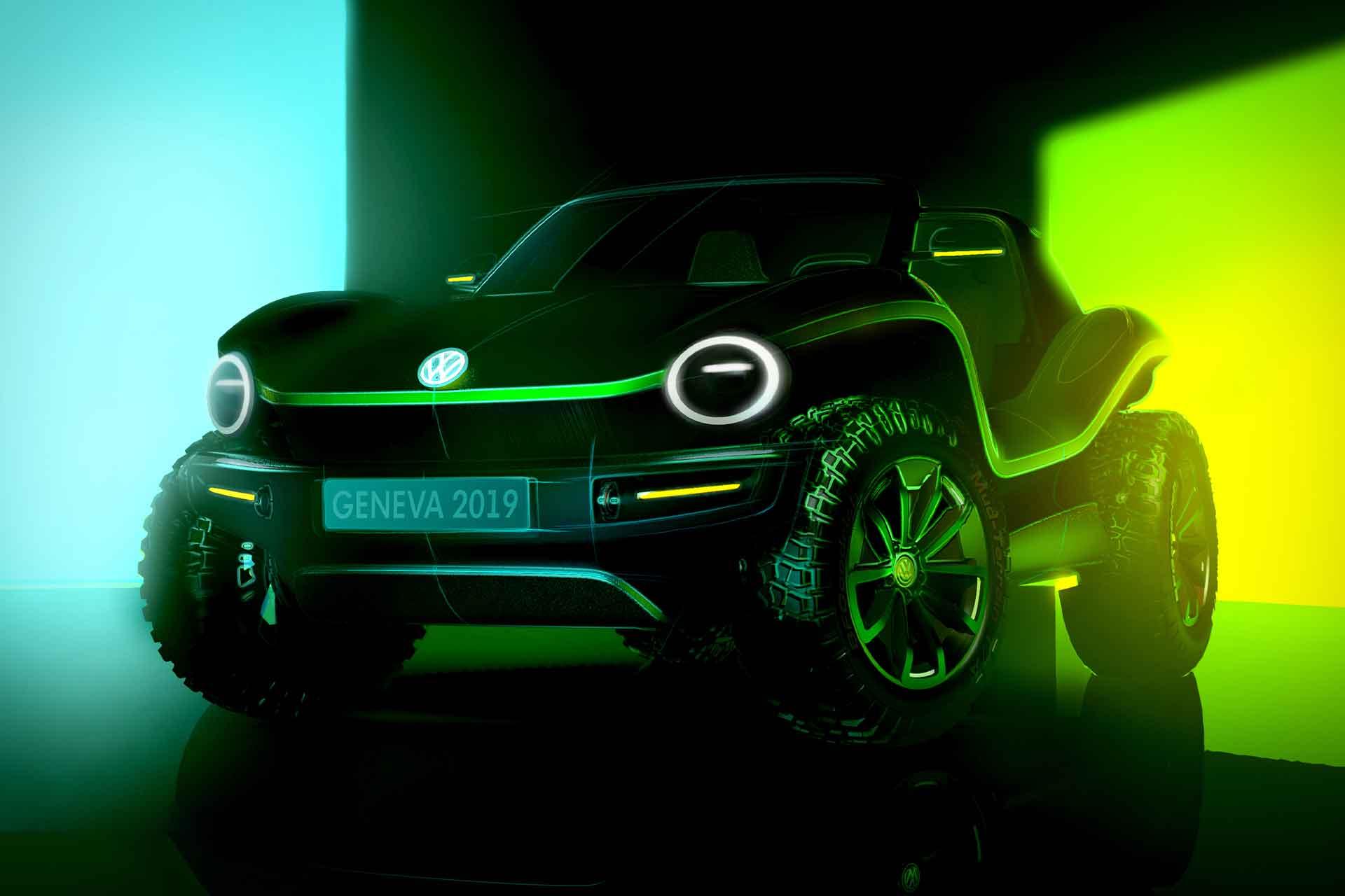 Vw Dune Buggy Concept on Vw Beetle Dune Concept
