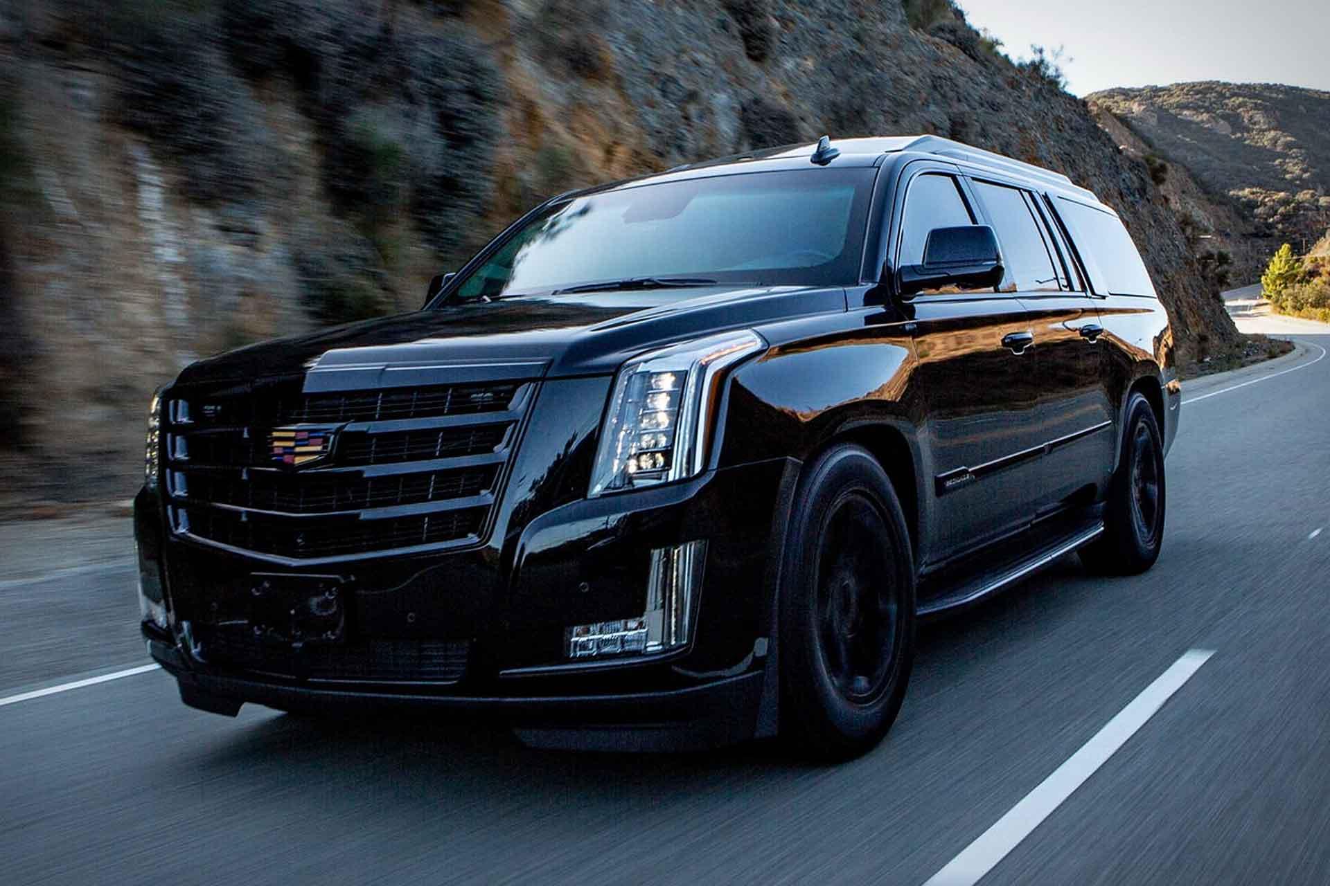 Suv With Third Row >> AddArmor Bulletproof Cadillac Escalade SUV   Uncrate