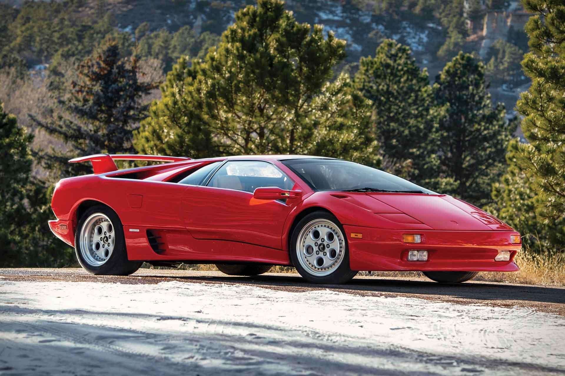 Mario Andretti's 1991 Lamborghini Diablo