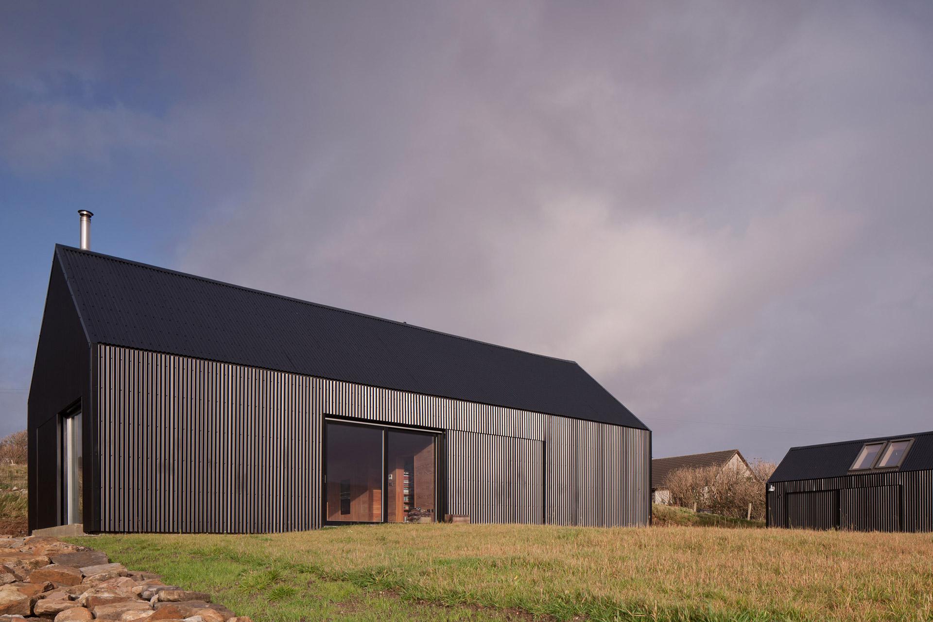 Black Shed House