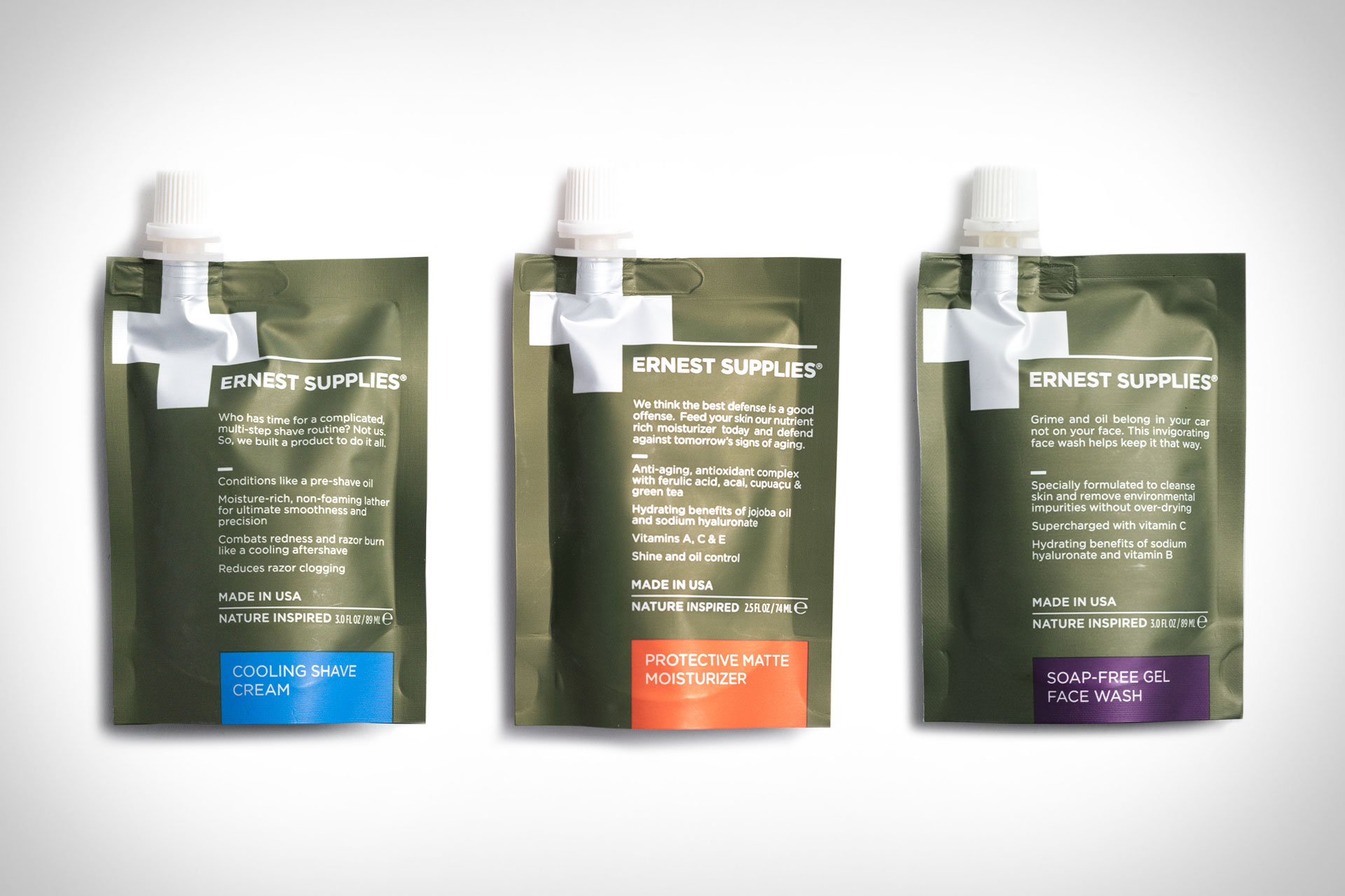 Ernest Supplies Travel Grooming Pouches