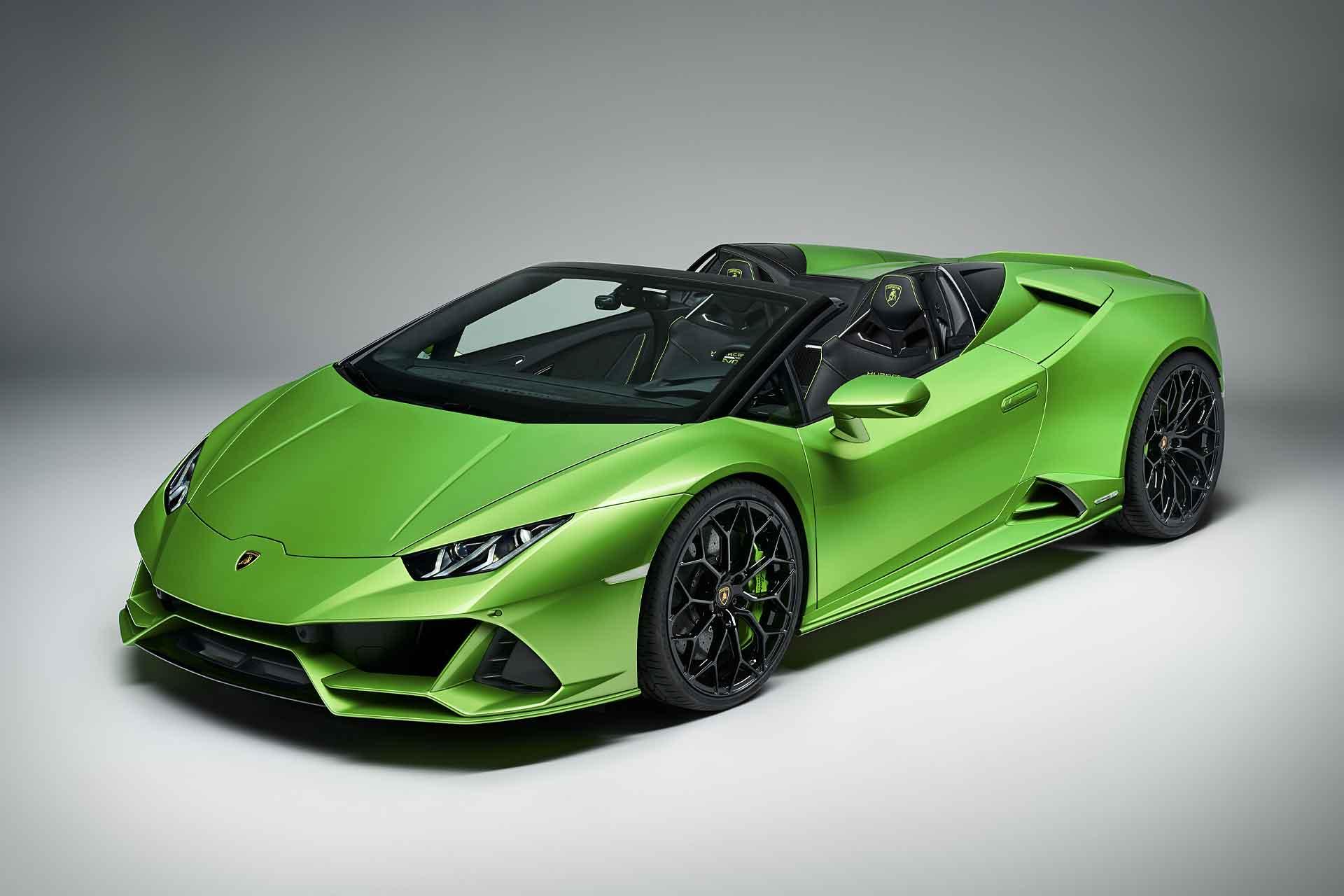 Lamborghini Huracan Evo Spyder Uncrate