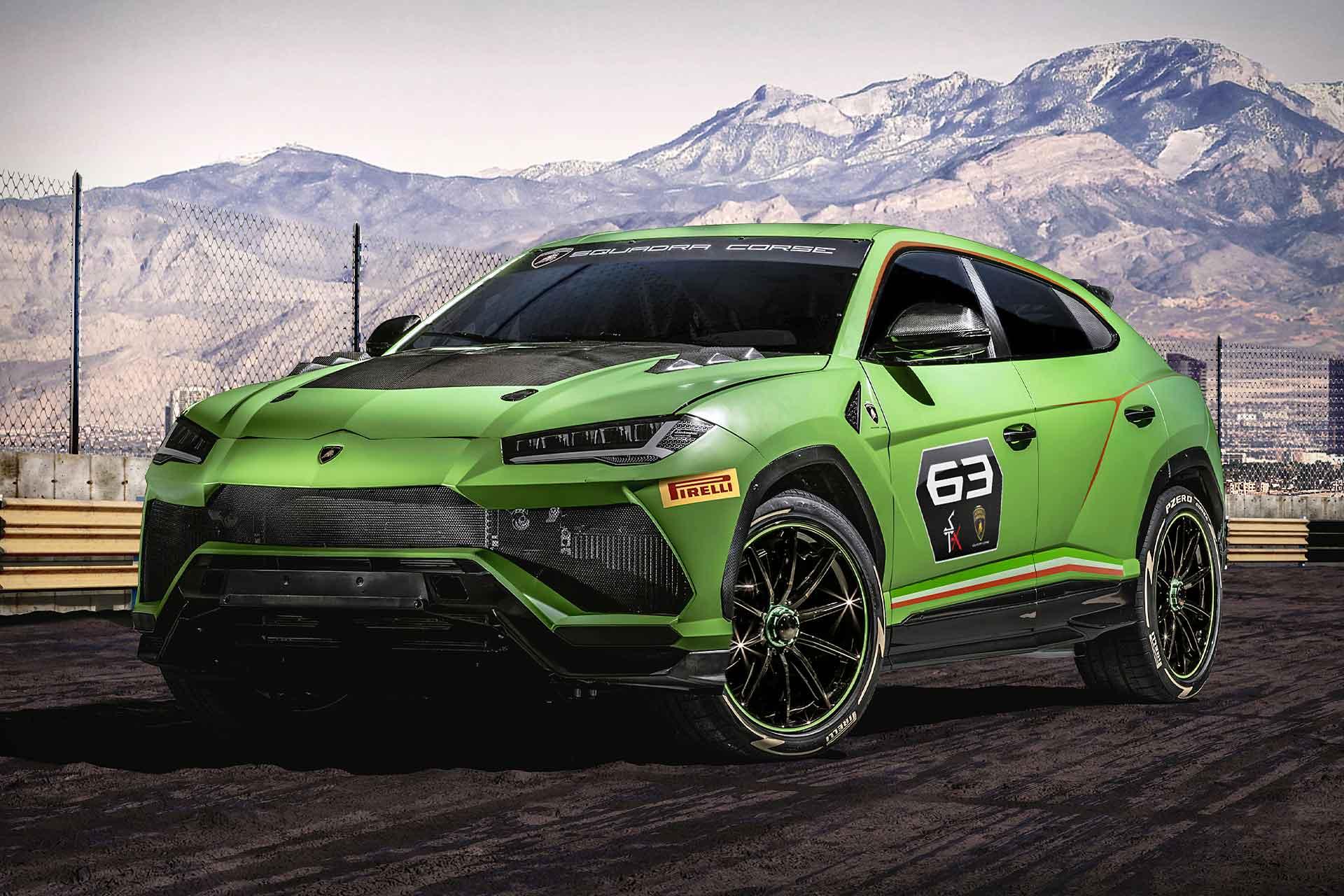 Lamborghini Urus Racing League