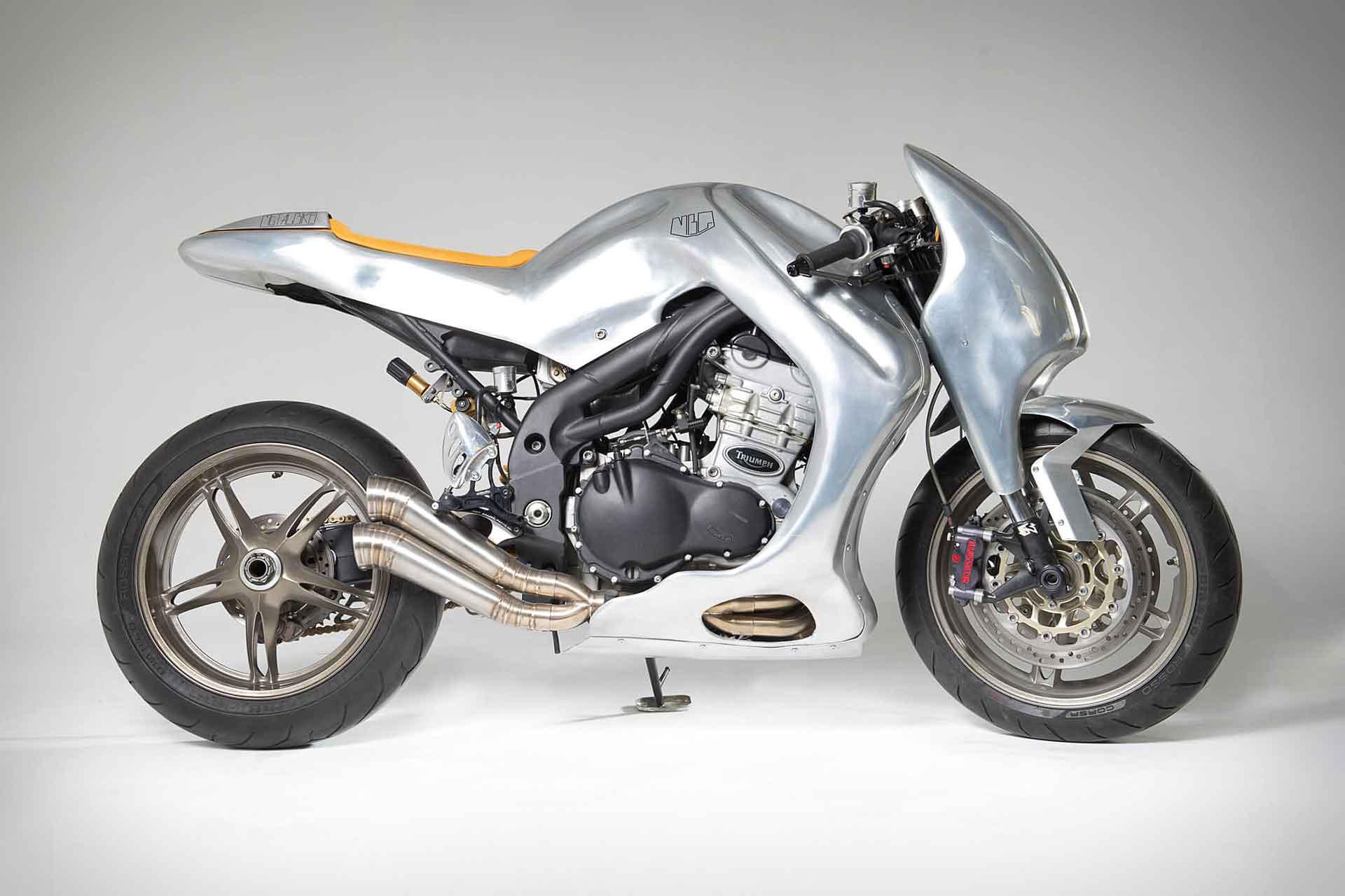Metalbike Garage Triumph Speed Triple Motorcycle