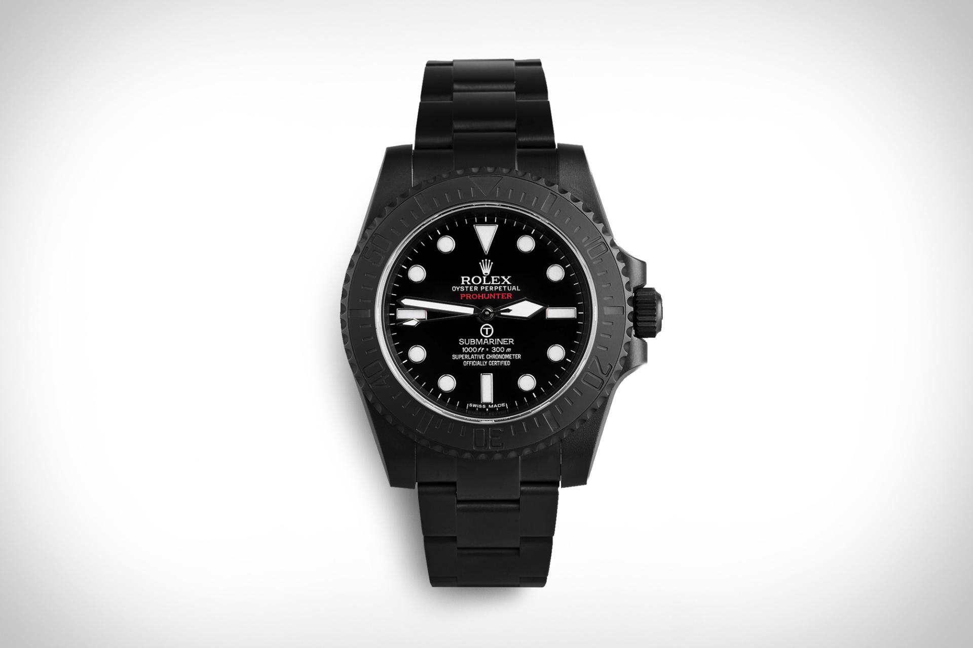 Pro Hunter Rolex Submariner Military Stealth Watch