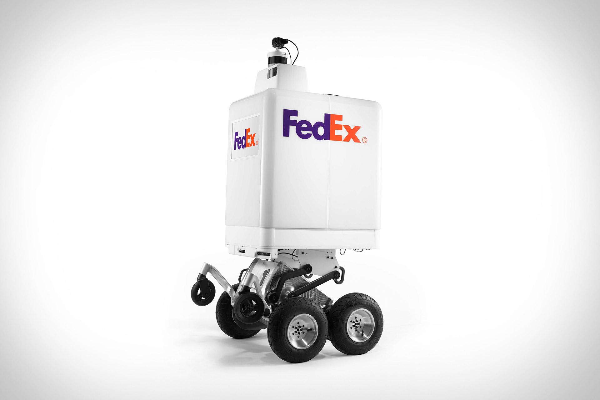 FedEx SameDay Autonomous Delivery Robot   Uncrate