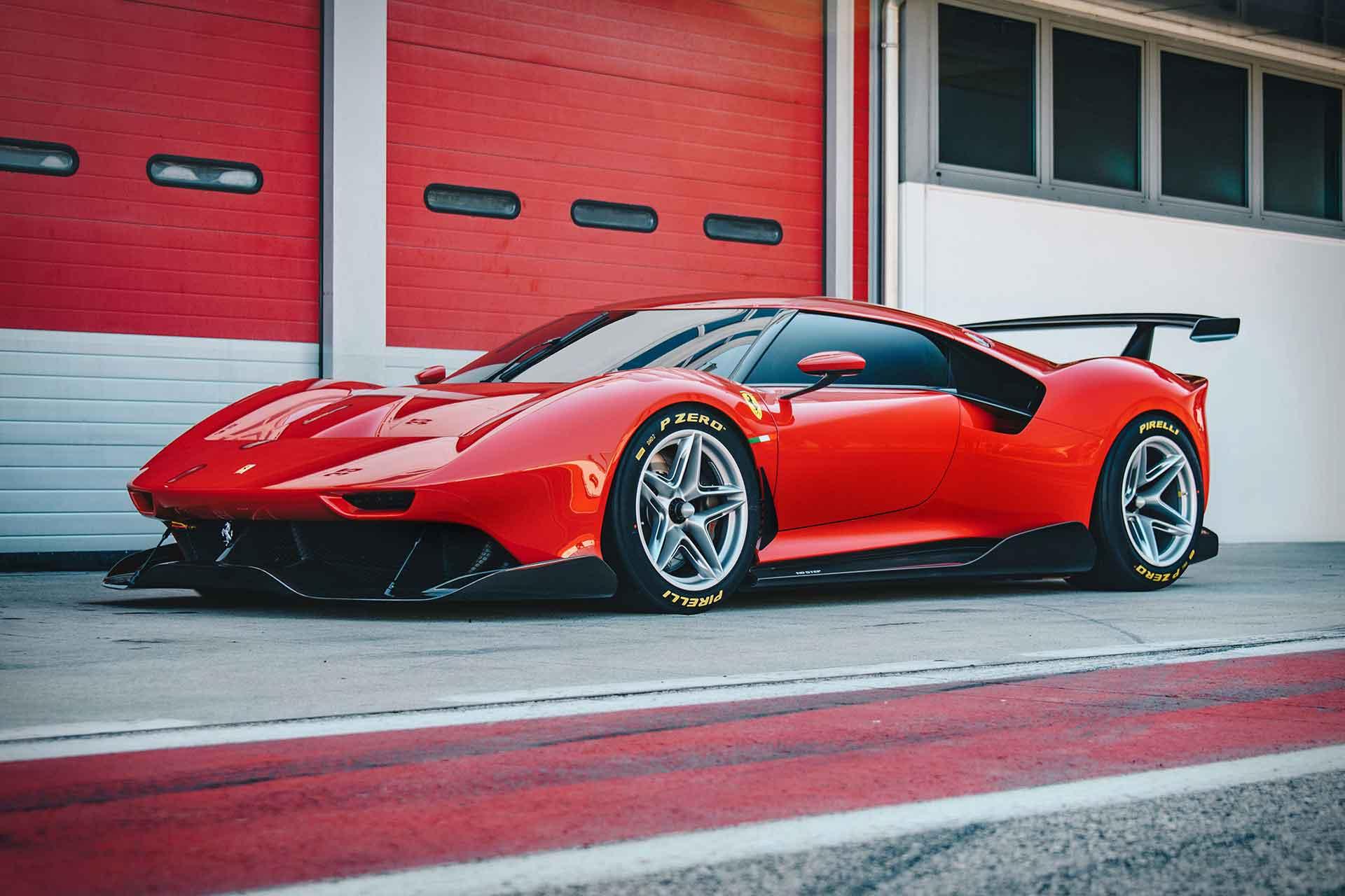 Ferrari P80/C Track Car