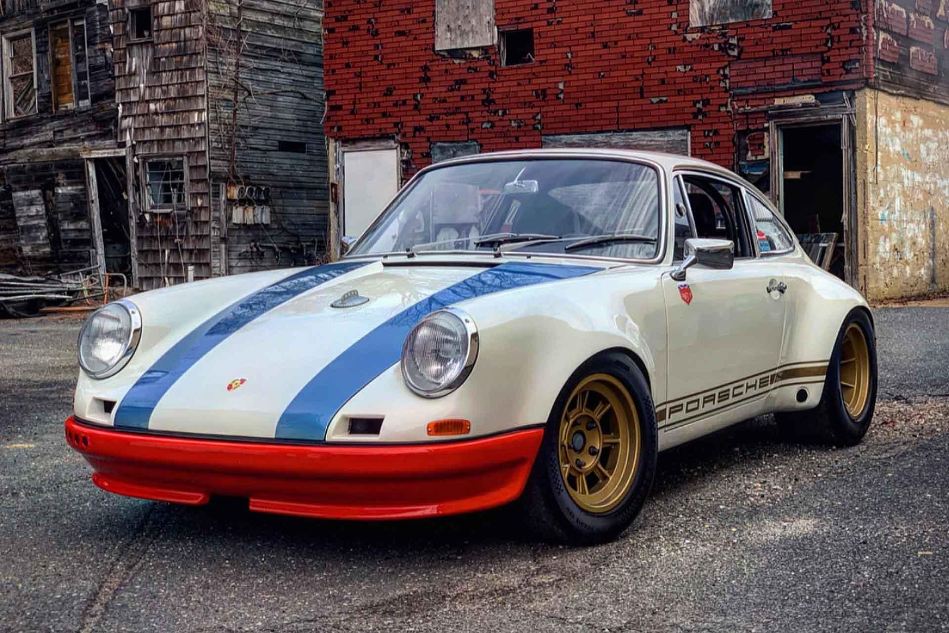Magnus Walker 1972 Porsche 911 STR II Coupe