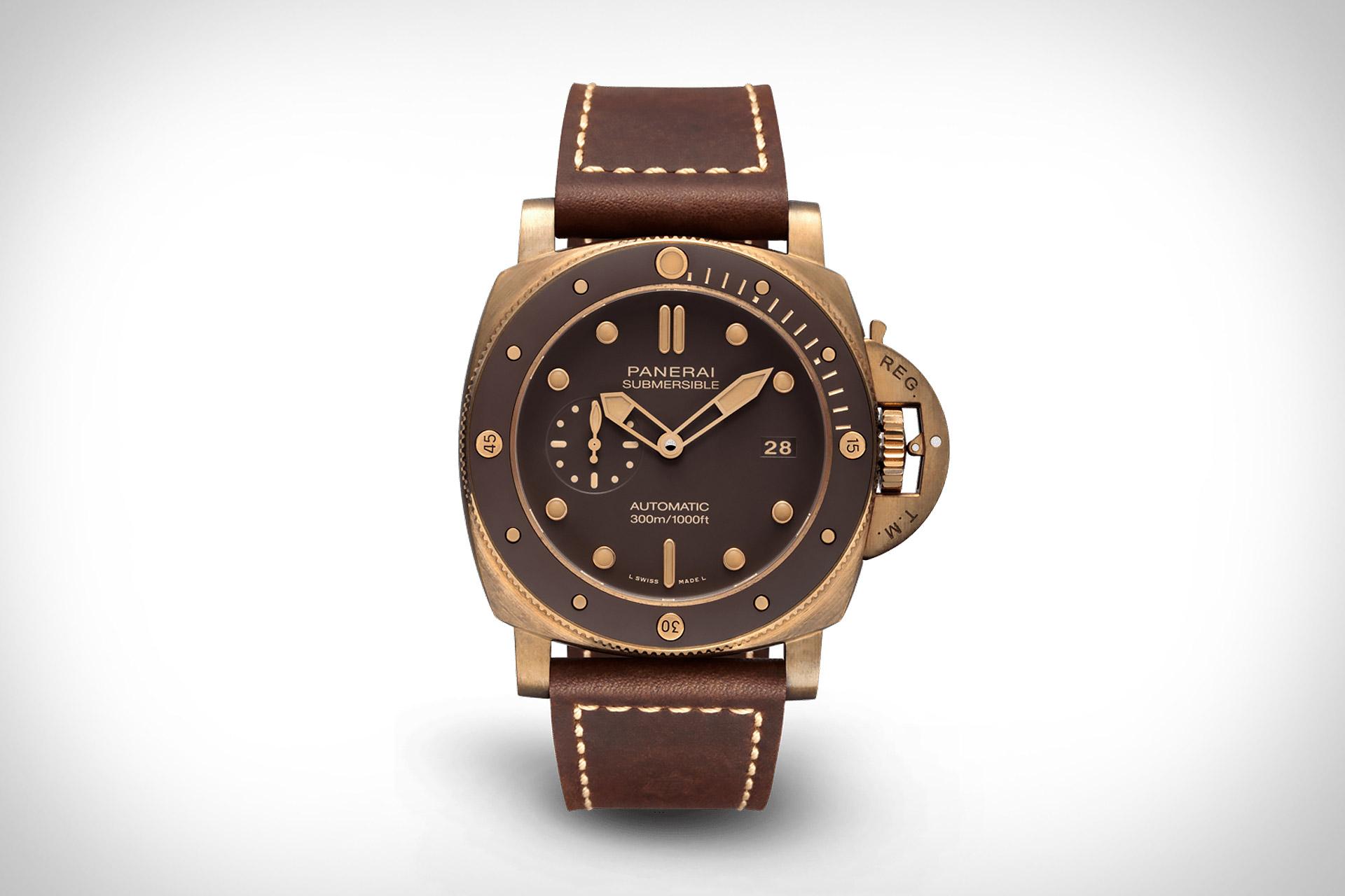 Panerai Submersible Bronzo Watch