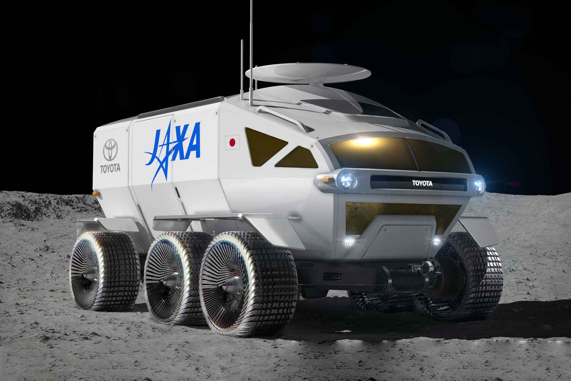 JAXA x Toyota Lunar Rover