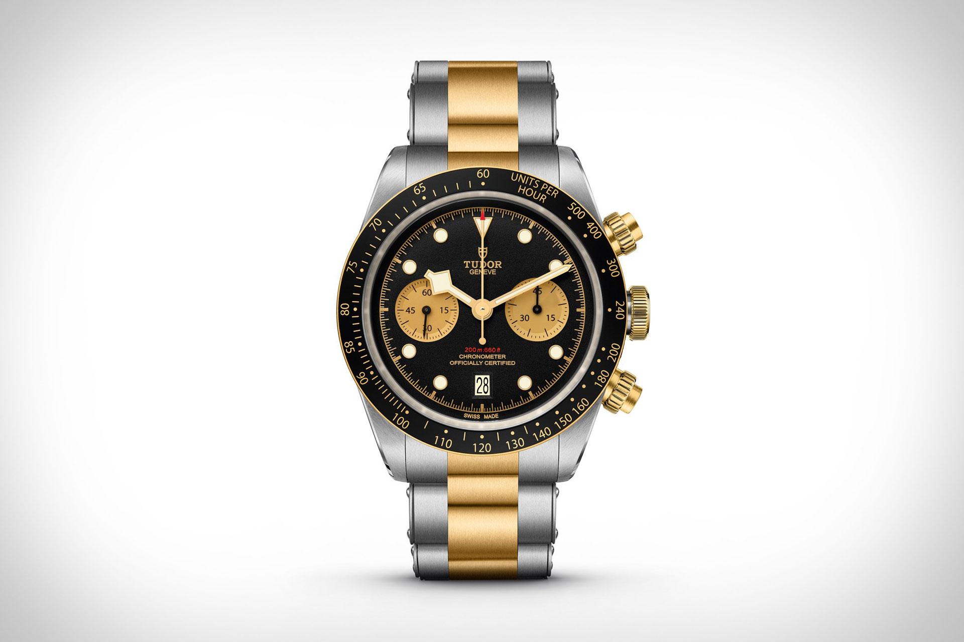 TUDOR Black Bay Chrono S&G Watch