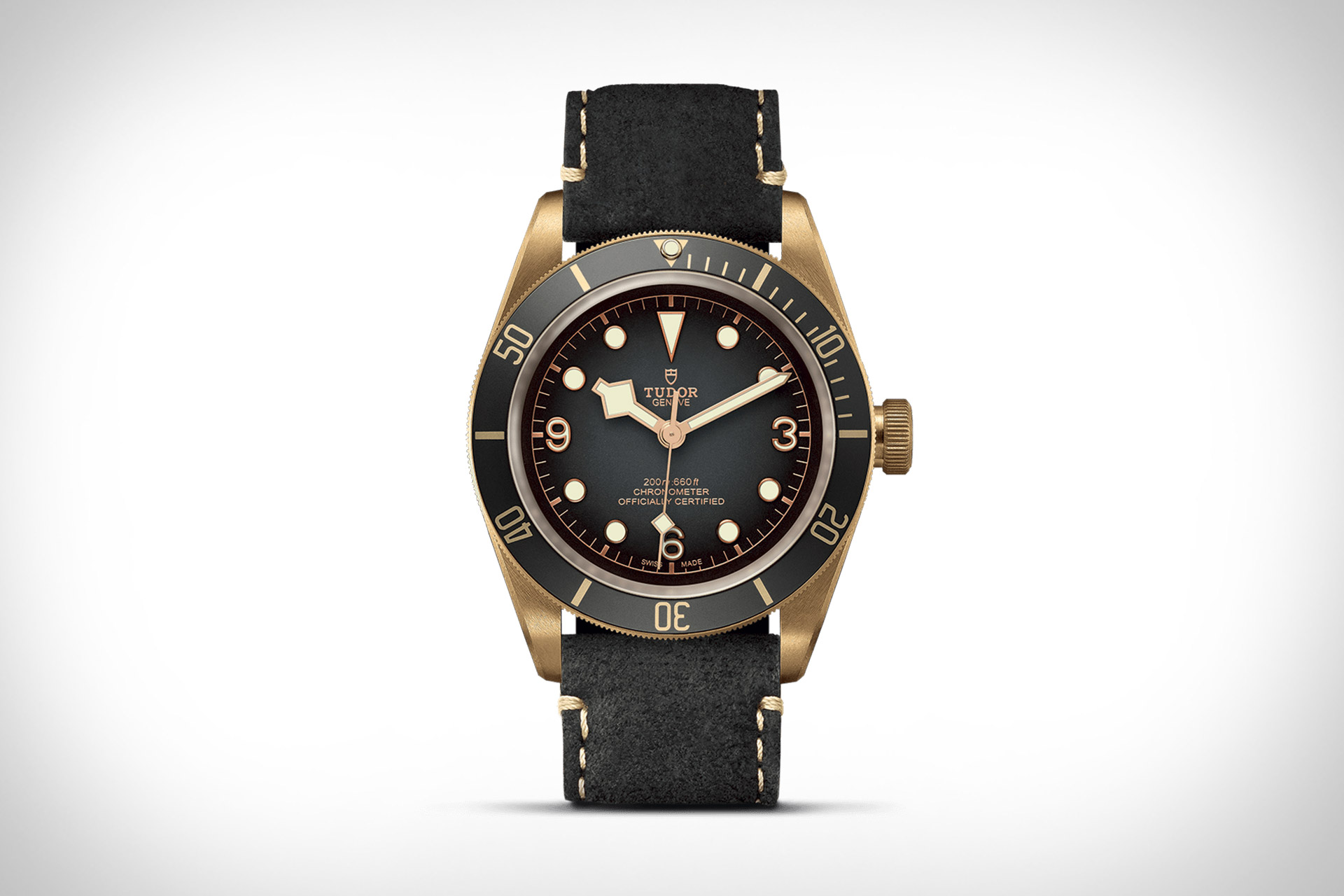 TUDOR Black Bay Bronze Slate Grey Watch