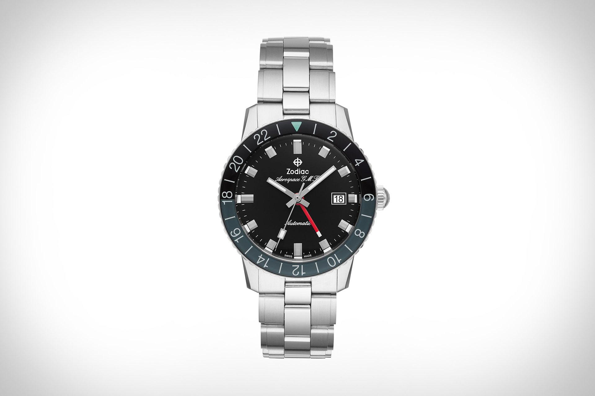 Zodiac Aerospace GMT Watch