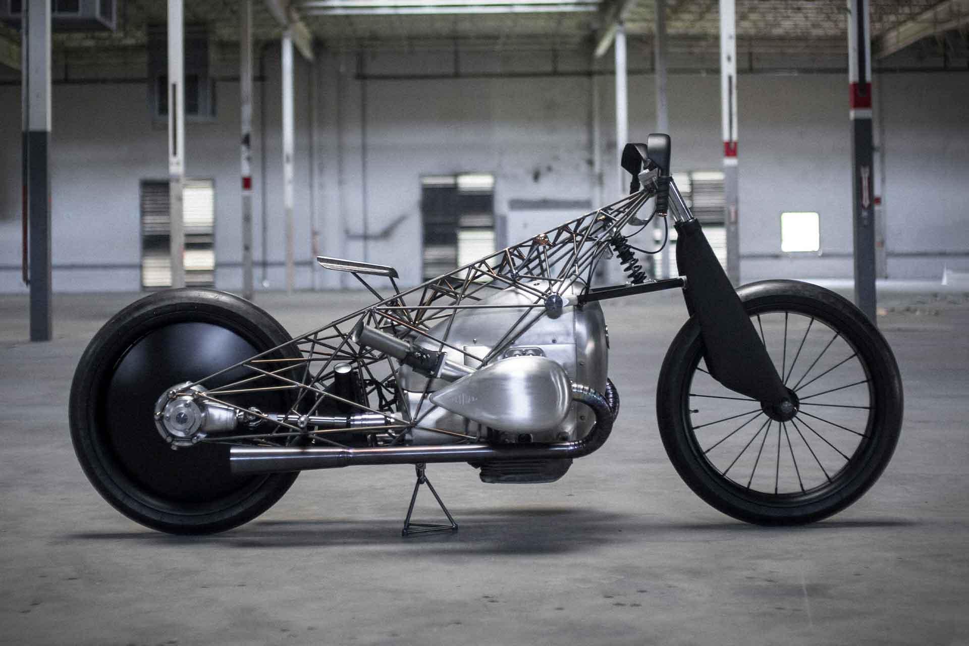 BMW x Revival Birdcage Motorcycle