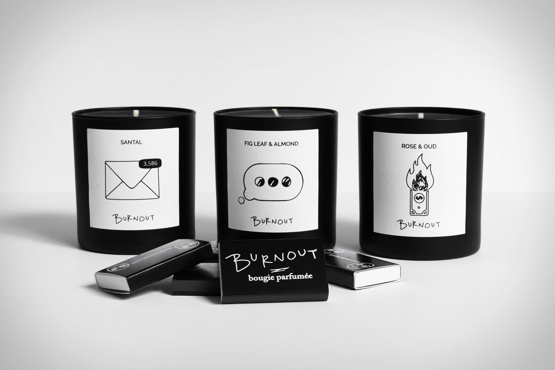 Burnout Candles