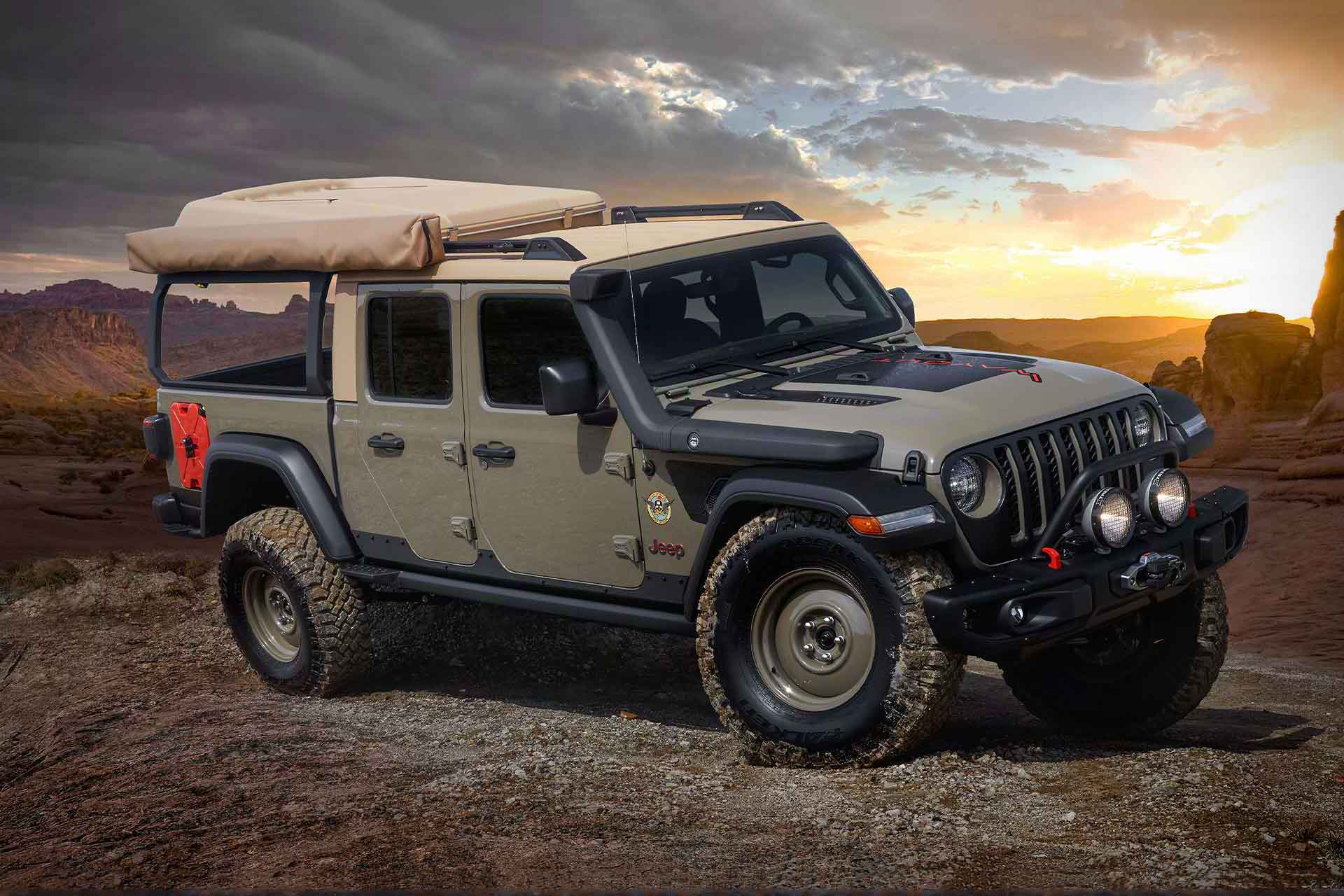 Jeep Wayout Concept Truck