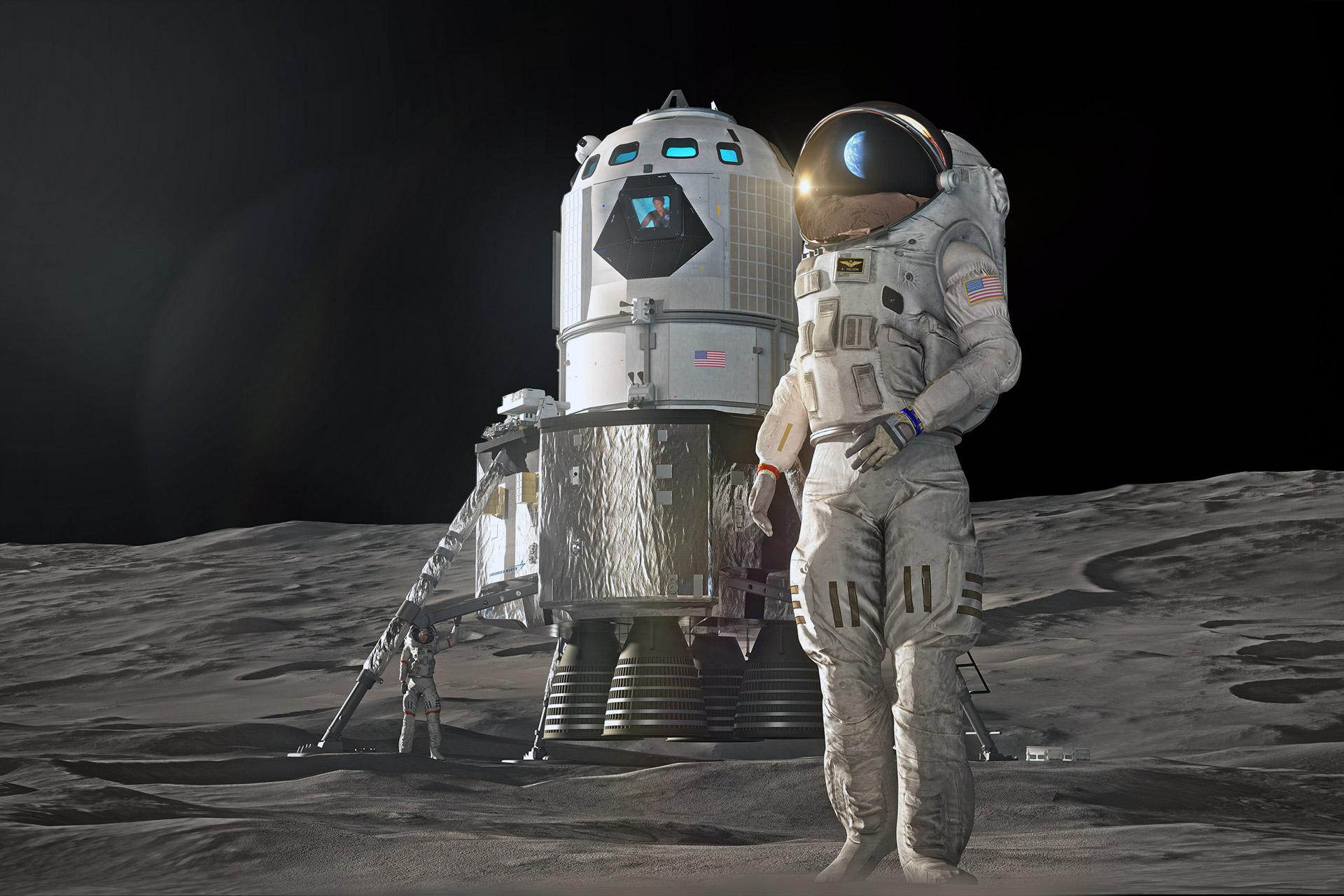 Lockheed Martin Moon Lander Concept
