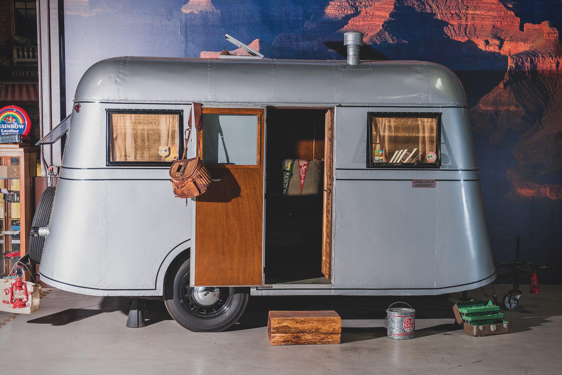1937 Pierce-Arrow Model C Travelodge Camper