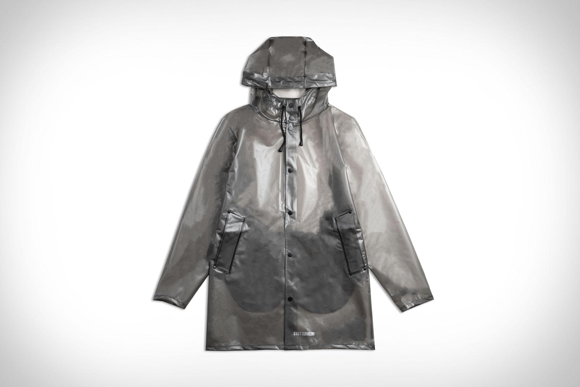 8a8f06bba Stutterheim Stockholm Smoke Rain Jacket
