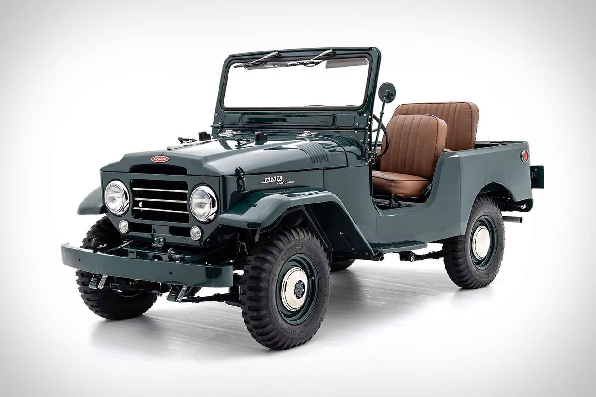 1957 Toyota FJ25 Land Cruiser SUV