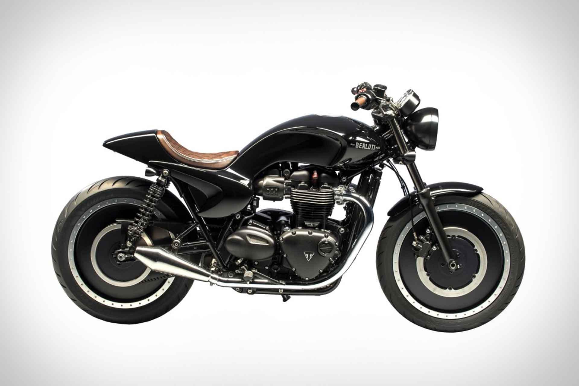 Triumph x Berluti Bonneville T120 Motorcycle