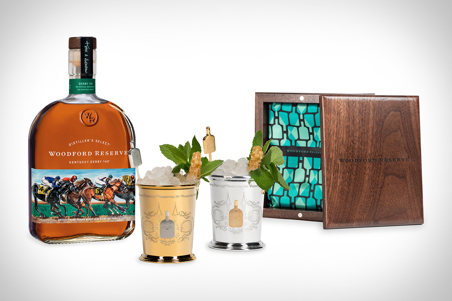 Woodford Reserve $1,000 Mint Julep Cup