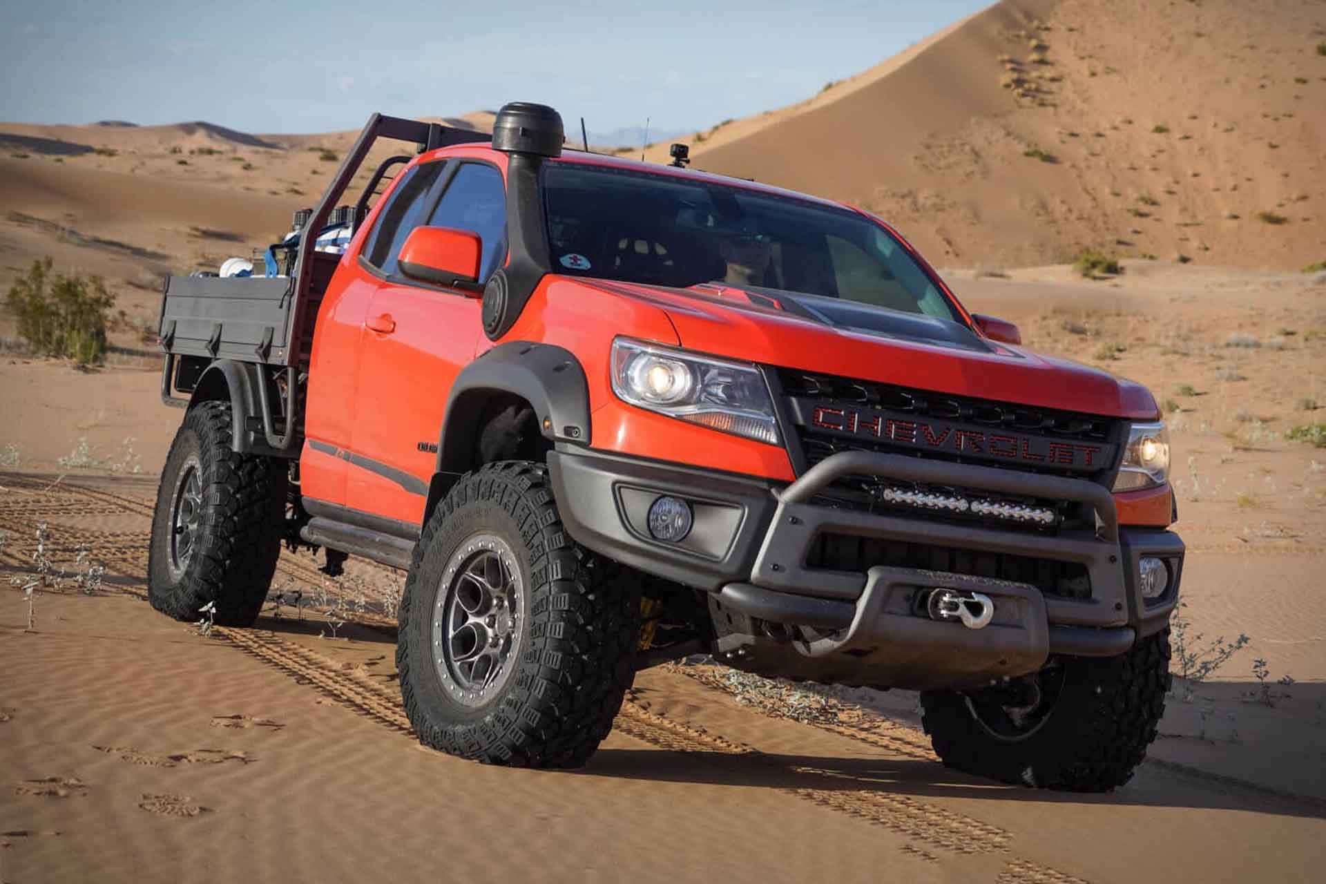 2019 Chevy Colorado Zr2 Bison Tray Bed Concept Truck Uncrate